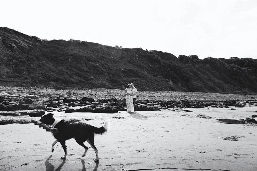 Engagement Shoot at Cayton Bay, North Yorkshire