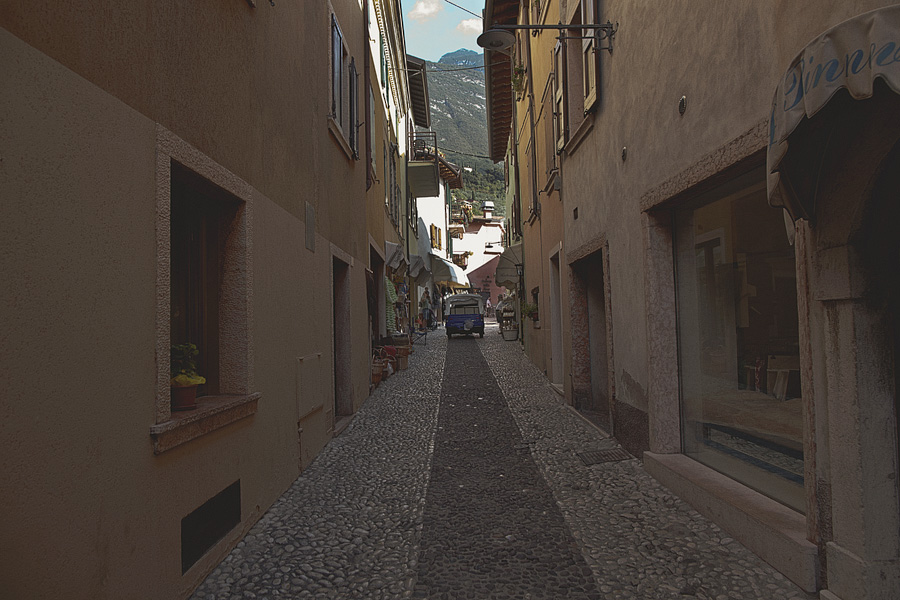 Through the streets of Malcesine
