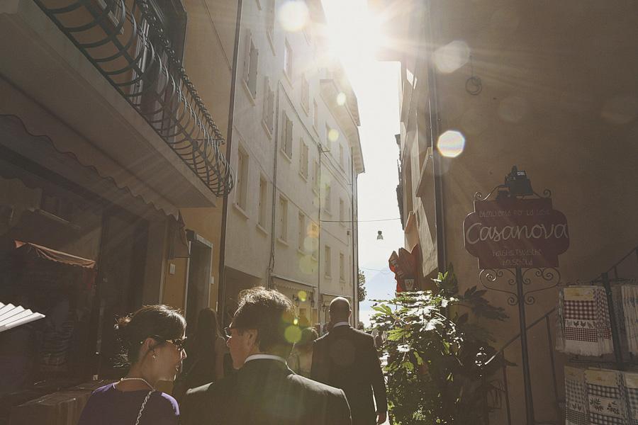 Walking the streets of Malcesine