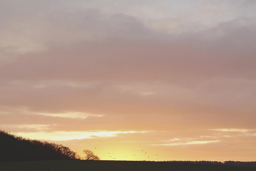 Sunset at Ox Pasture Hall