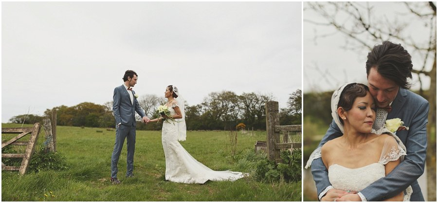 bride and groom portraits at Ox Pasture Hall