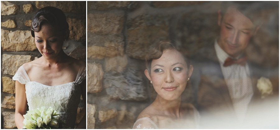 bridal portrait at Ox Pasture Hall