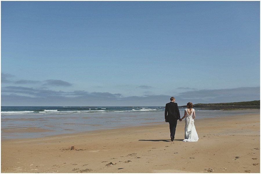 Northumberland Beach Wedding