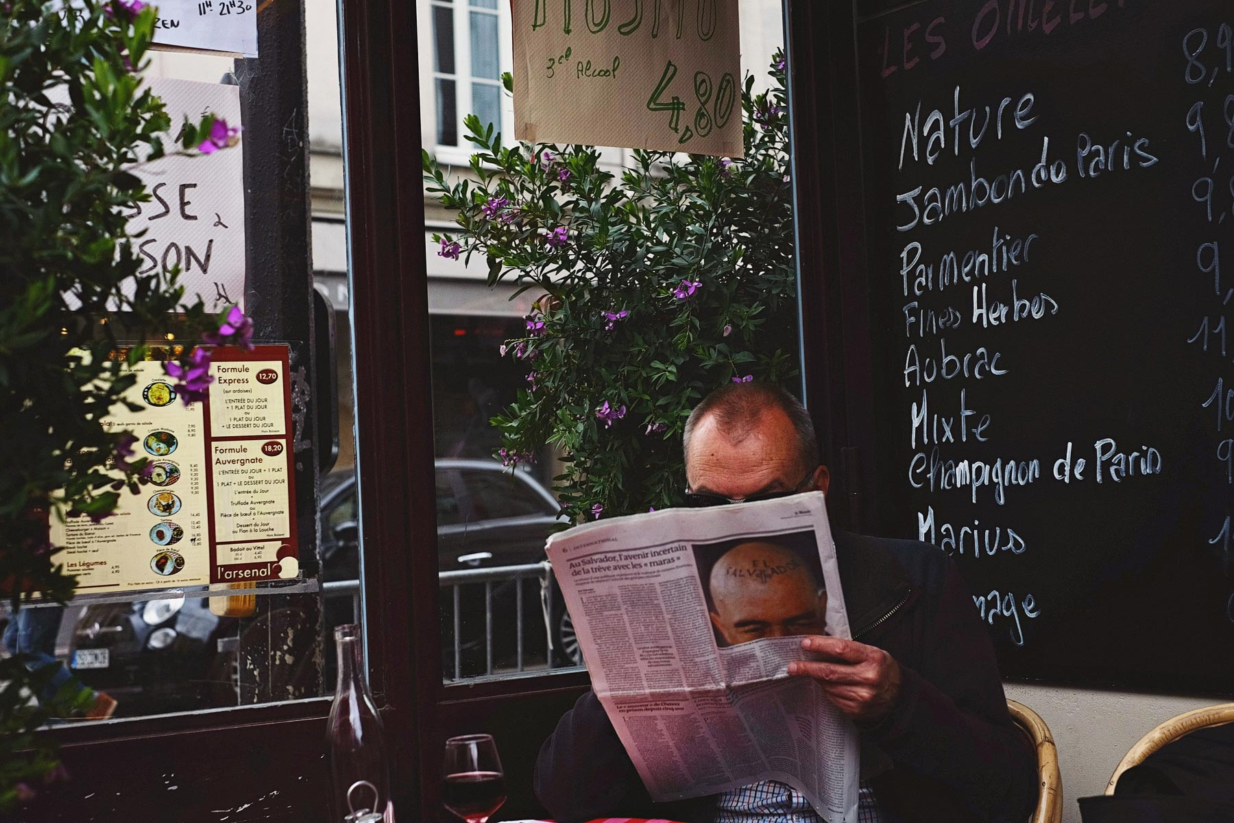 Paris Street Photography with The Fuji X-T1