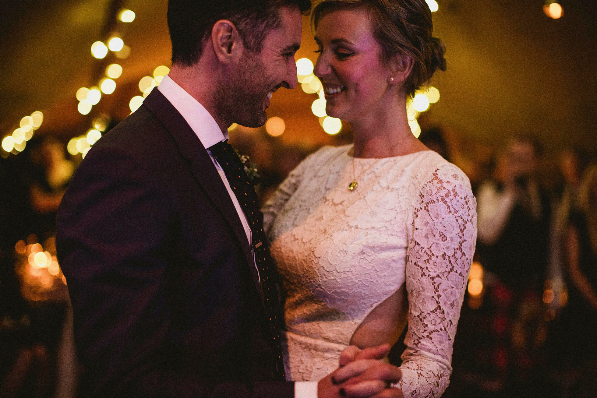 Broughton Hall Low Light Wedding Photography