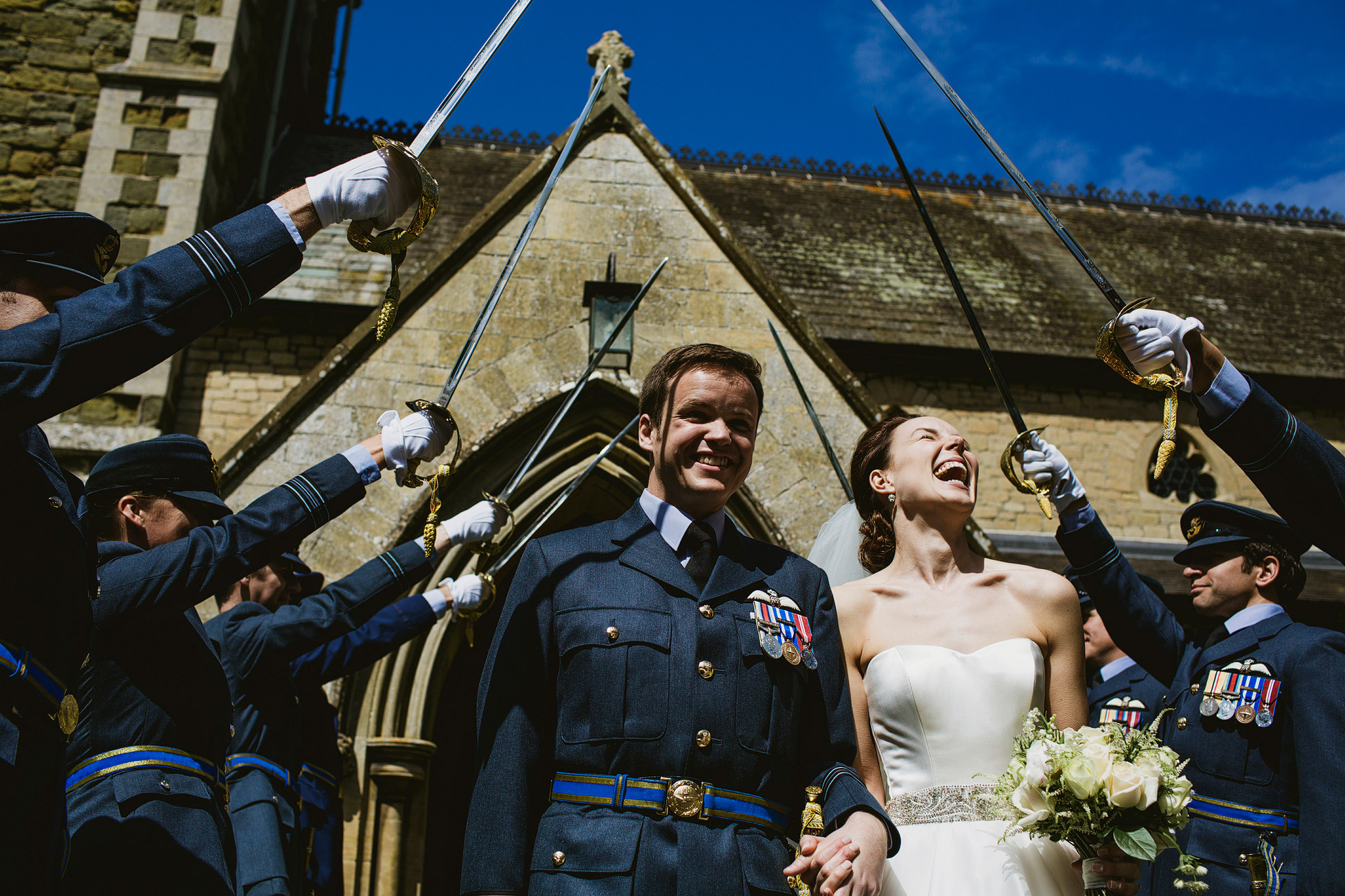 Armed Forces Wedding