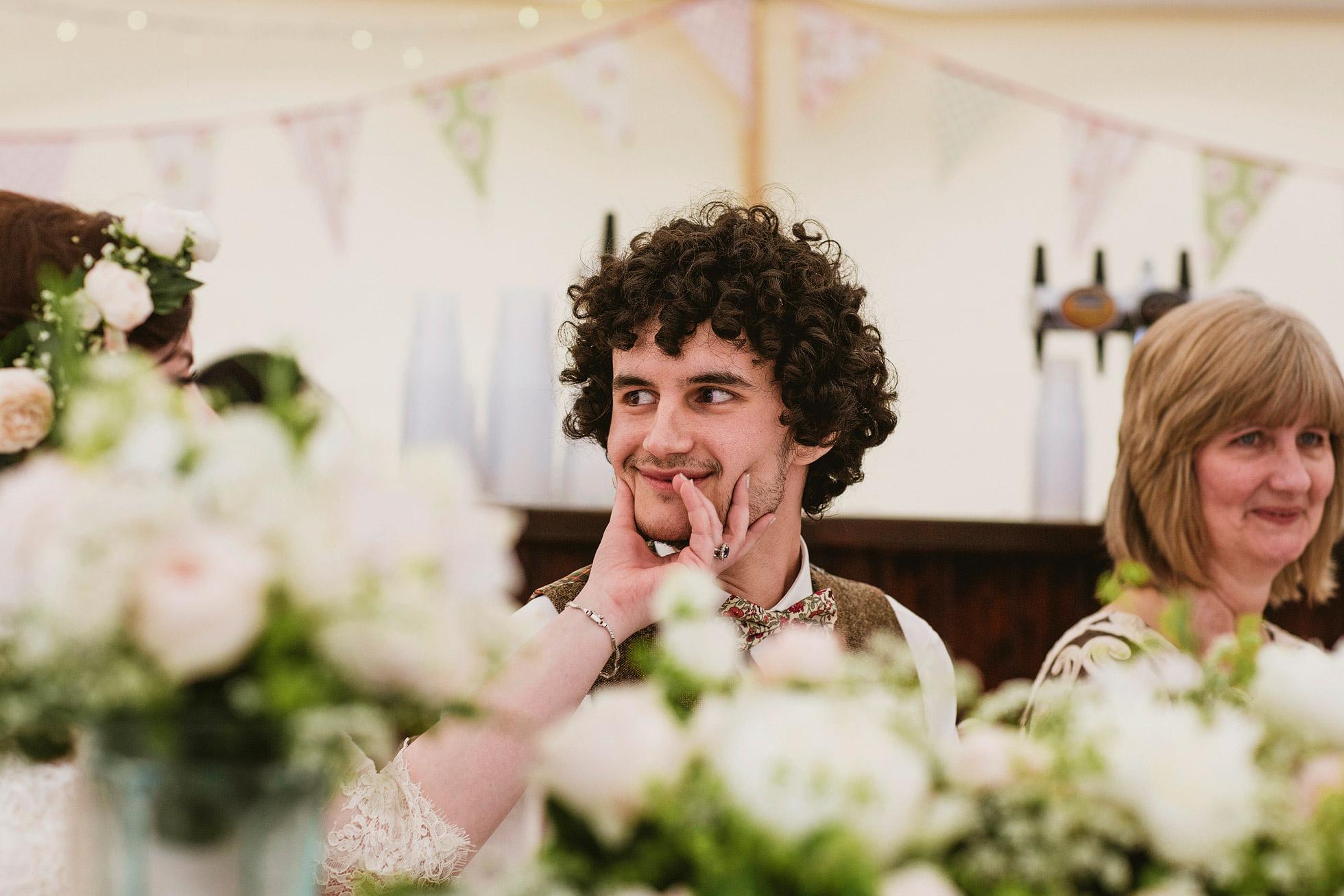 Canvas Marquee Wedding Speeches