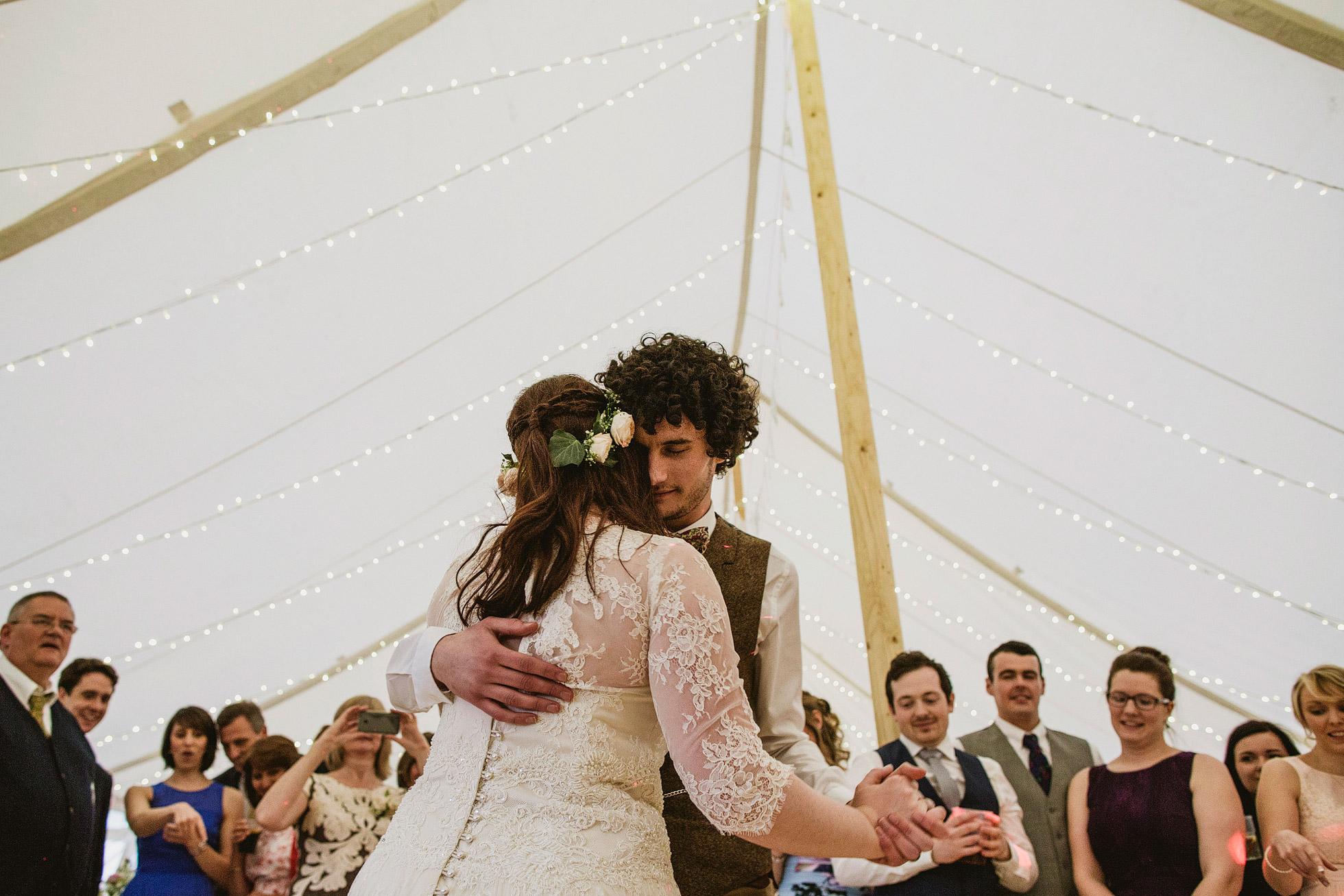 Canvas Marquee Wedding Reception