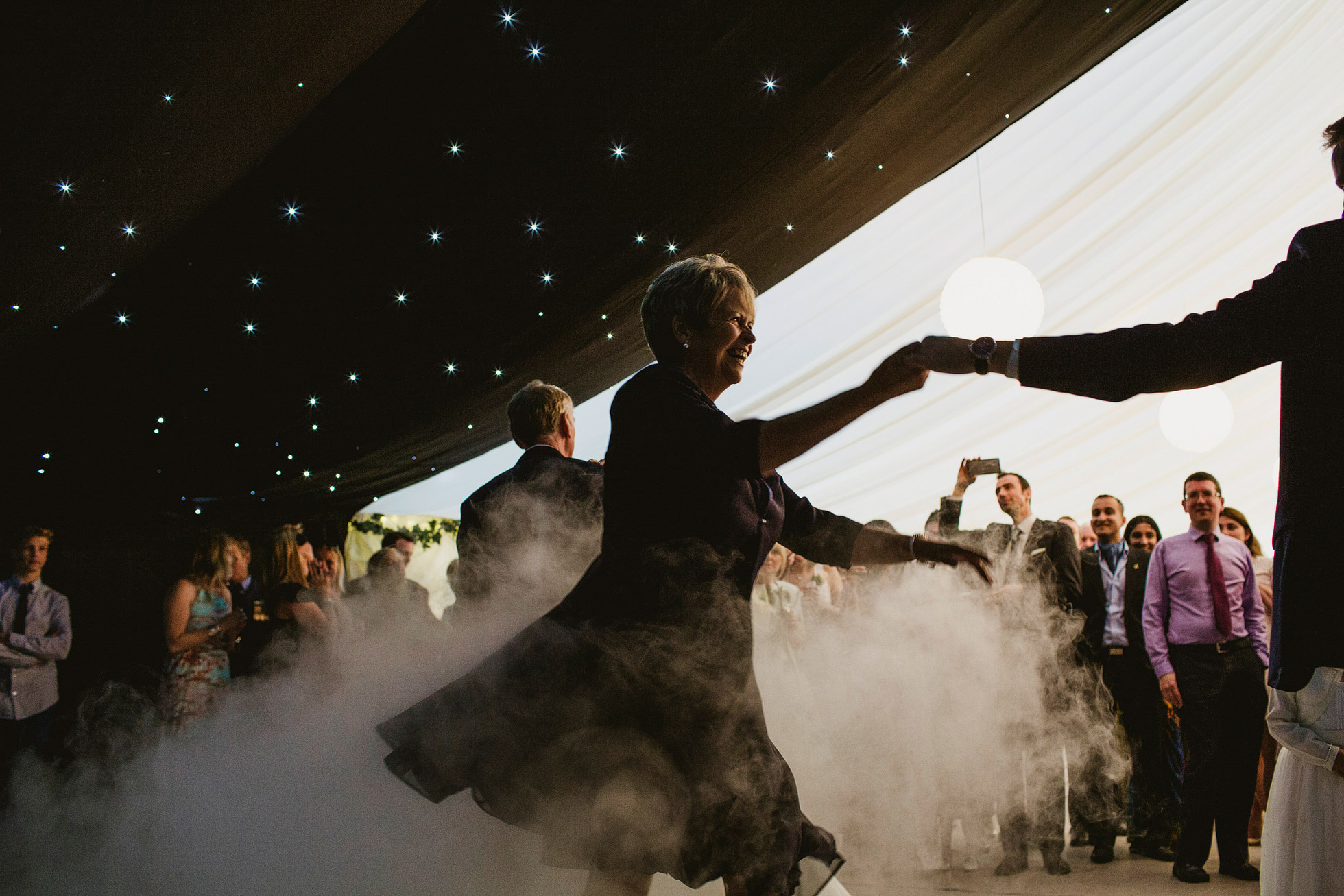 Marquee Wedding Dancefloor