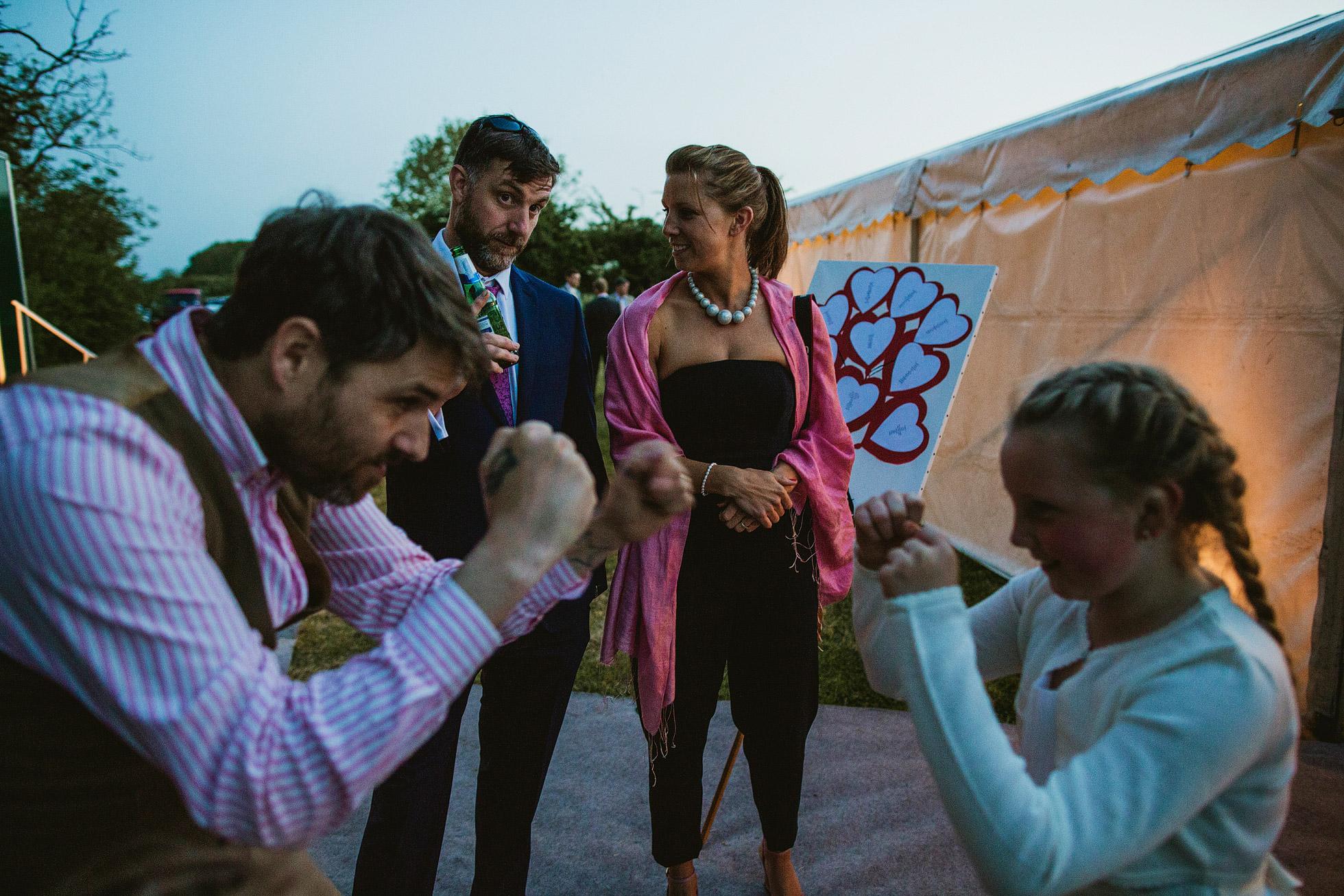 Garden Marquee Wedding Dancefloor