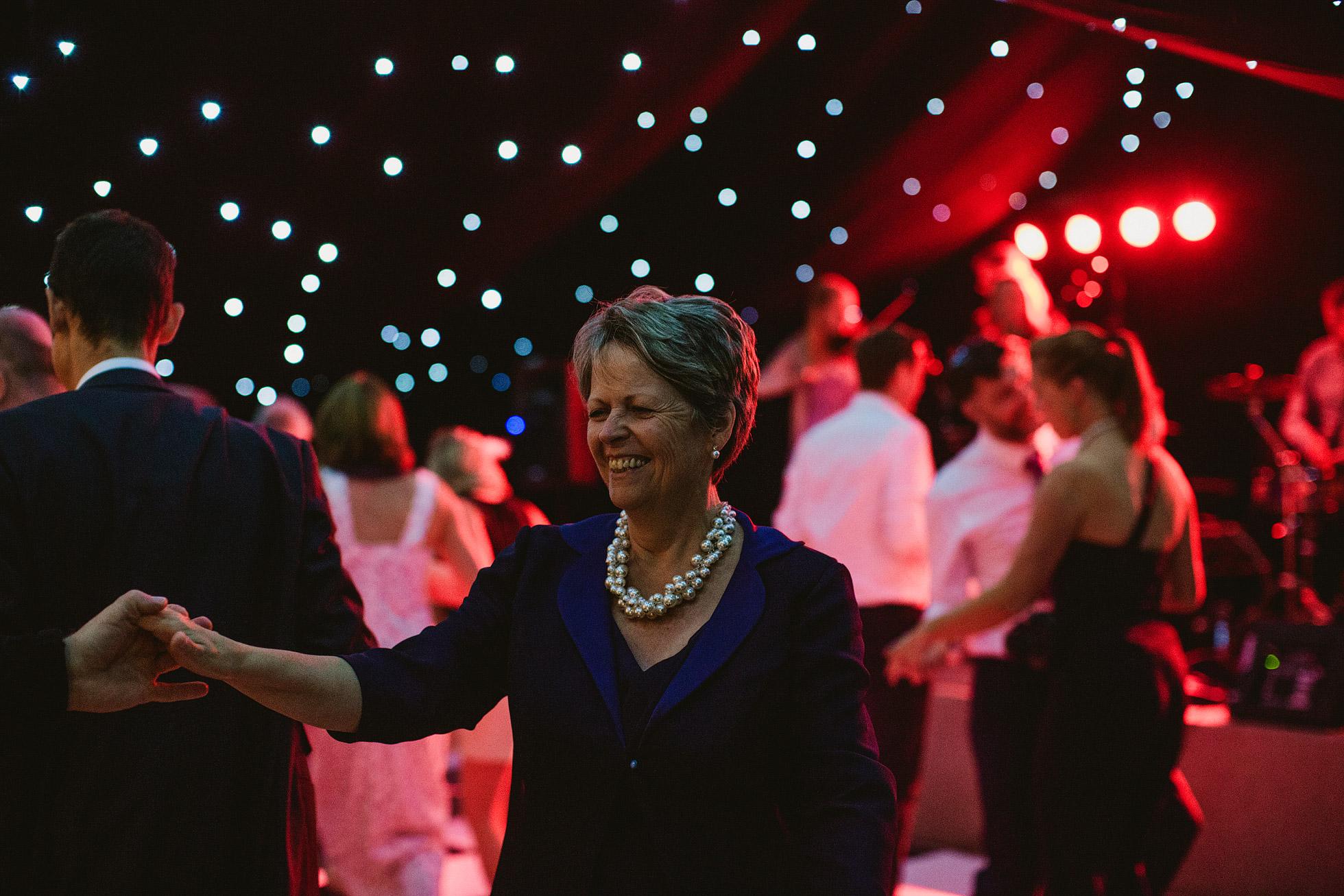 Marquee Wedding Dancefloor