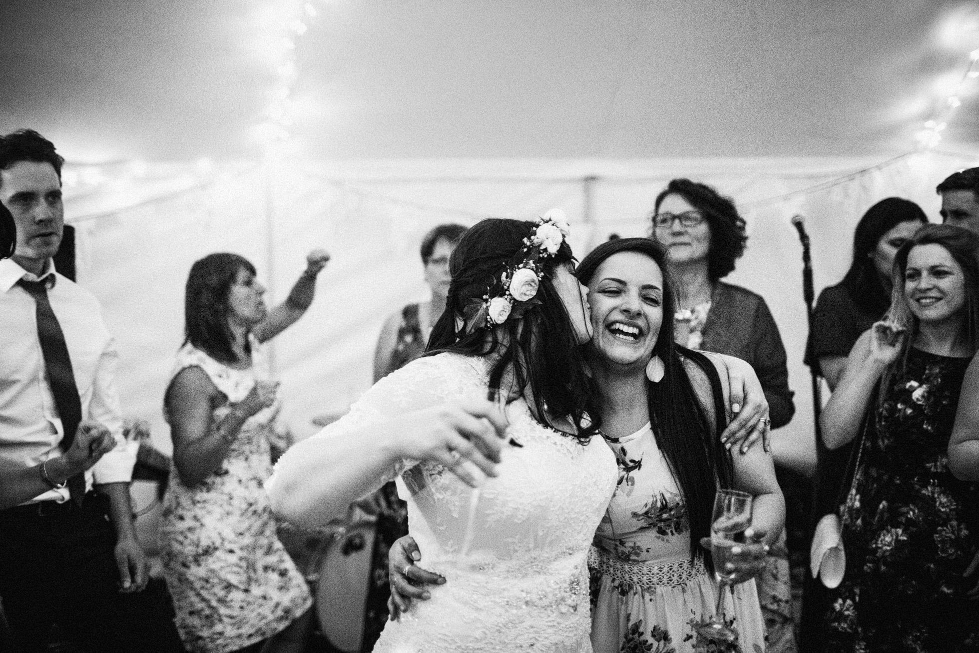 Canvas Marquee Evening Wedding Reception