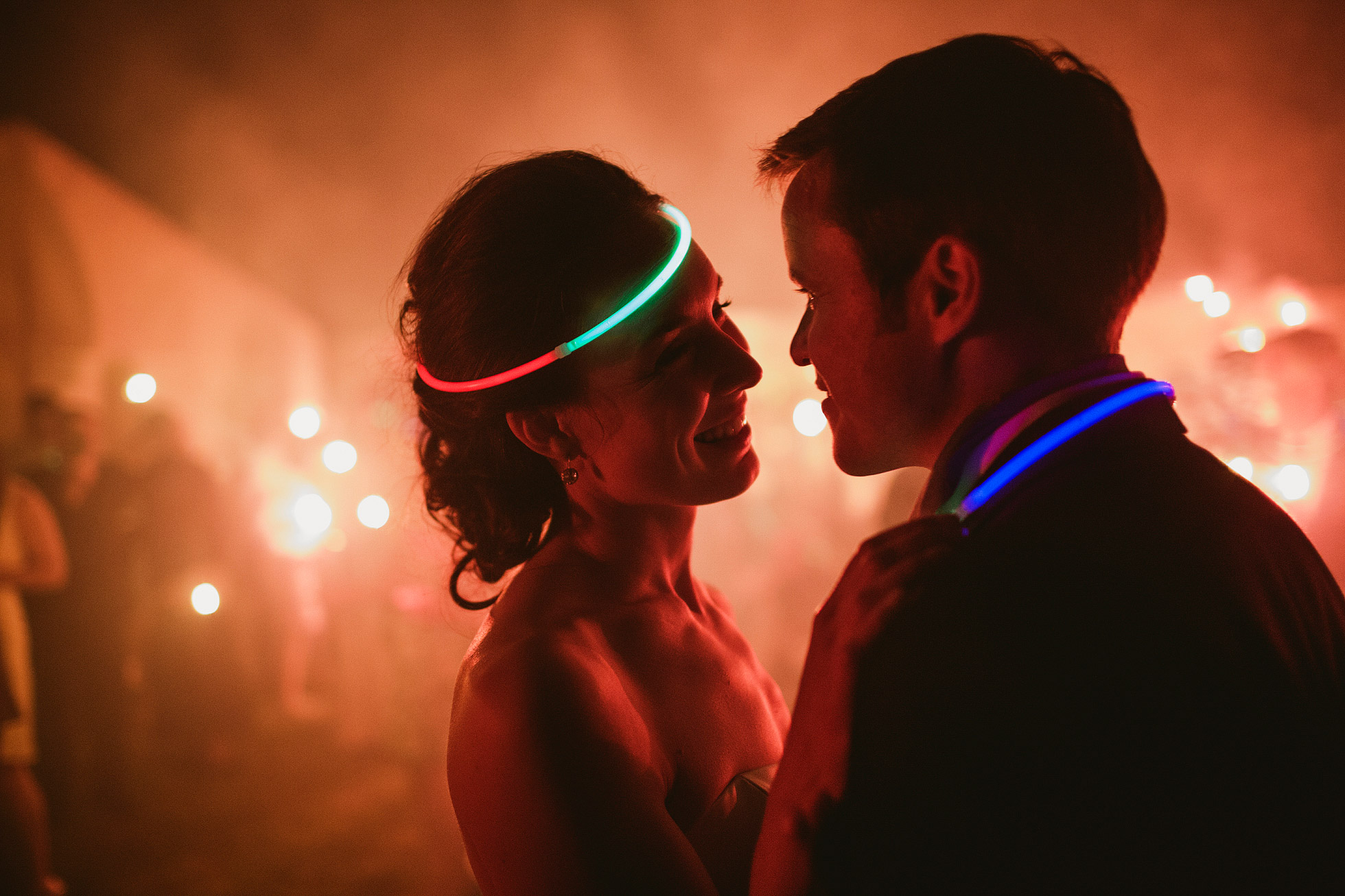 Glow Sticks Wedding