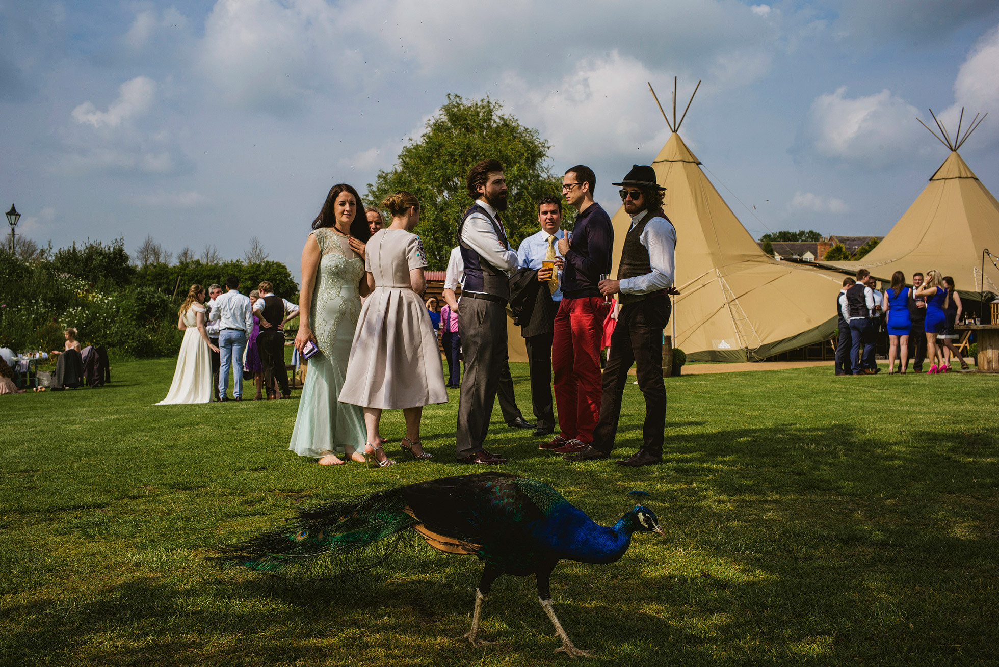 Country Teepee Weddings at Skipbridge