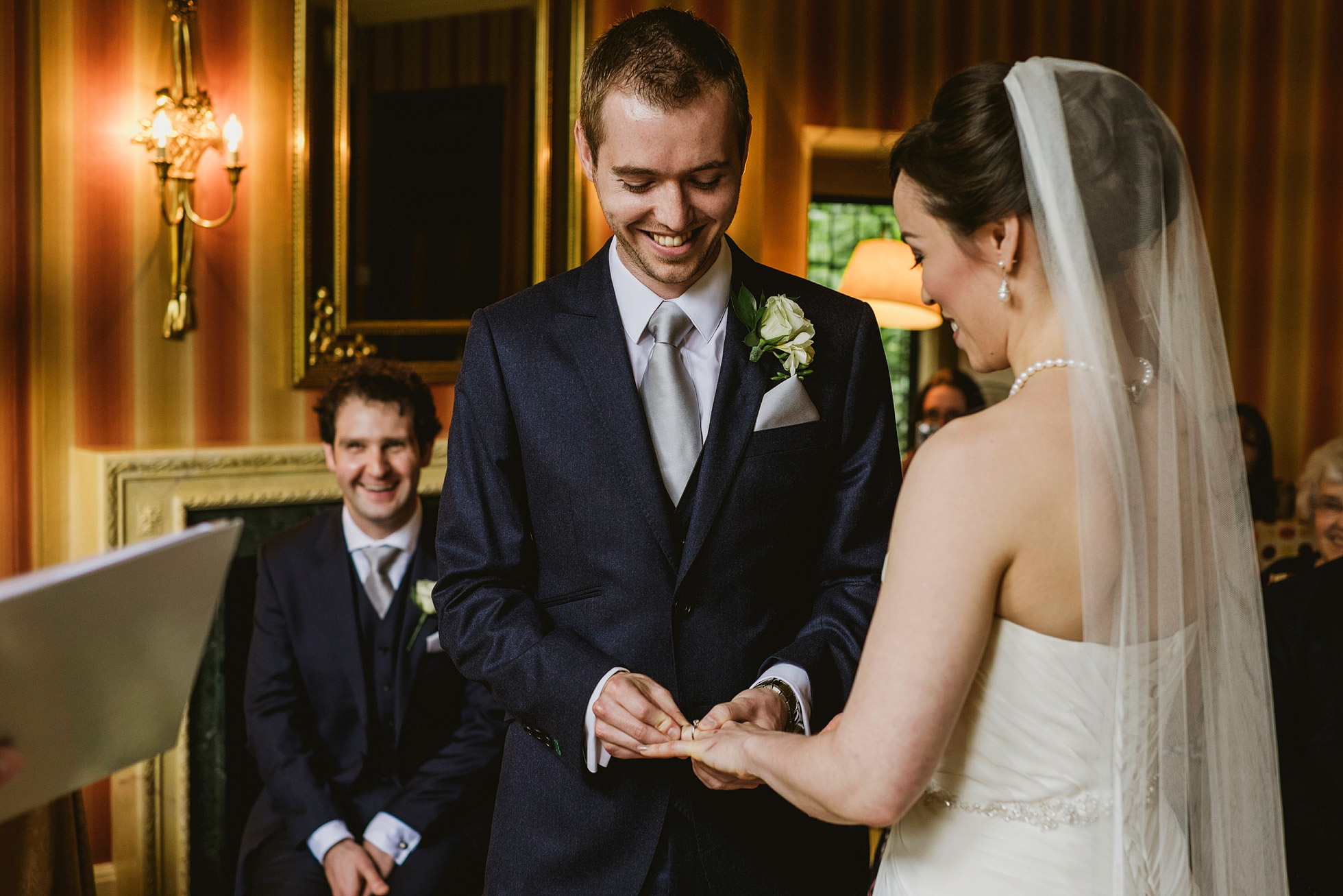 Intimate Wedding at Fischer's Baslow Hall