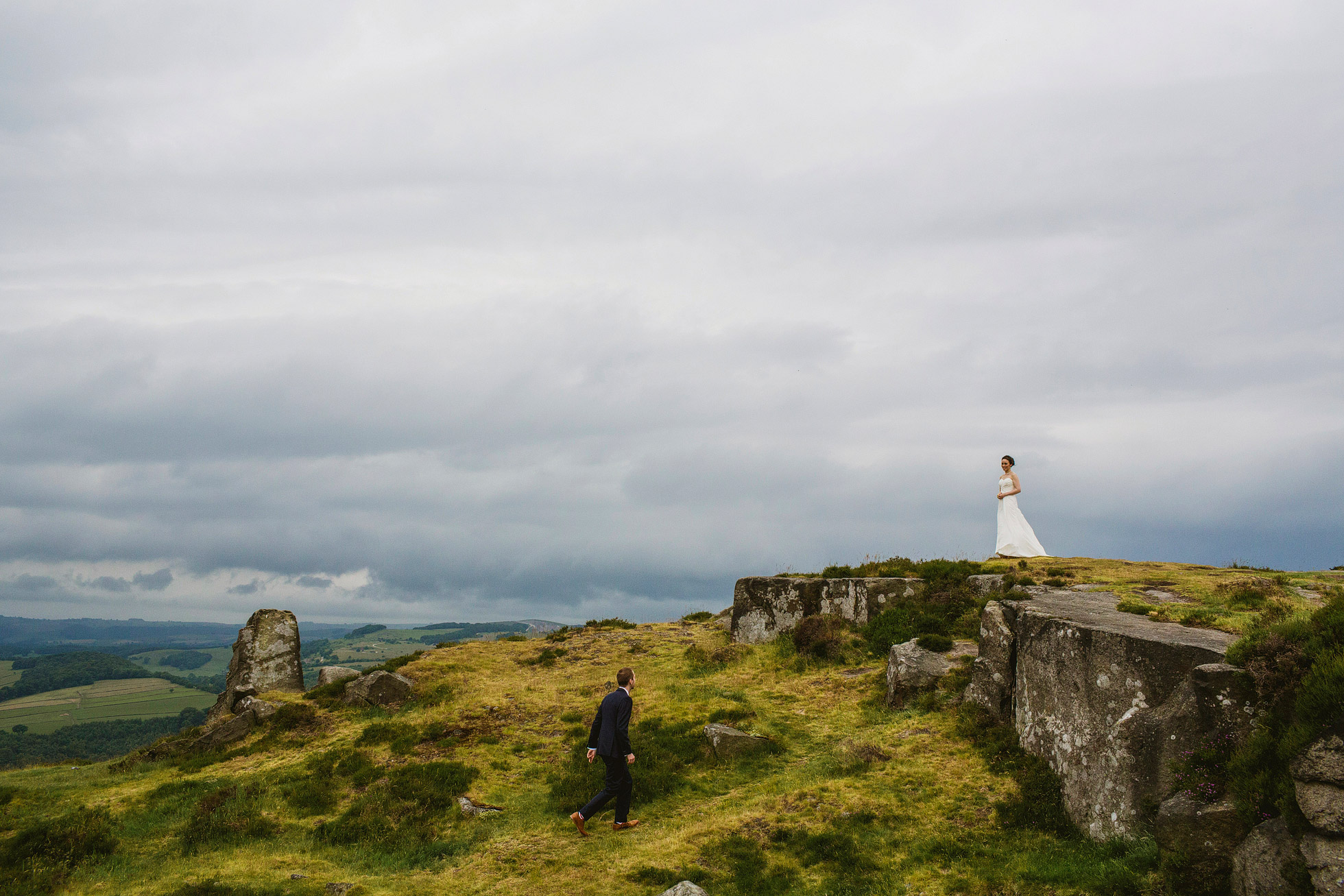 Intimate Wedding Photography at Fischer's Baslow Hall