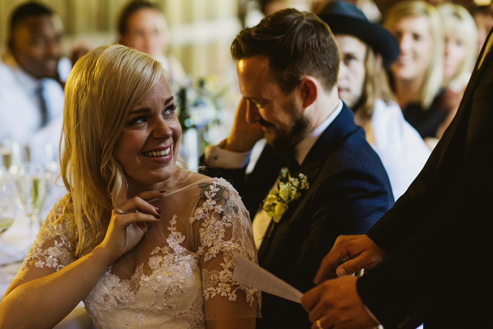 Grays Court Wedding Speeches