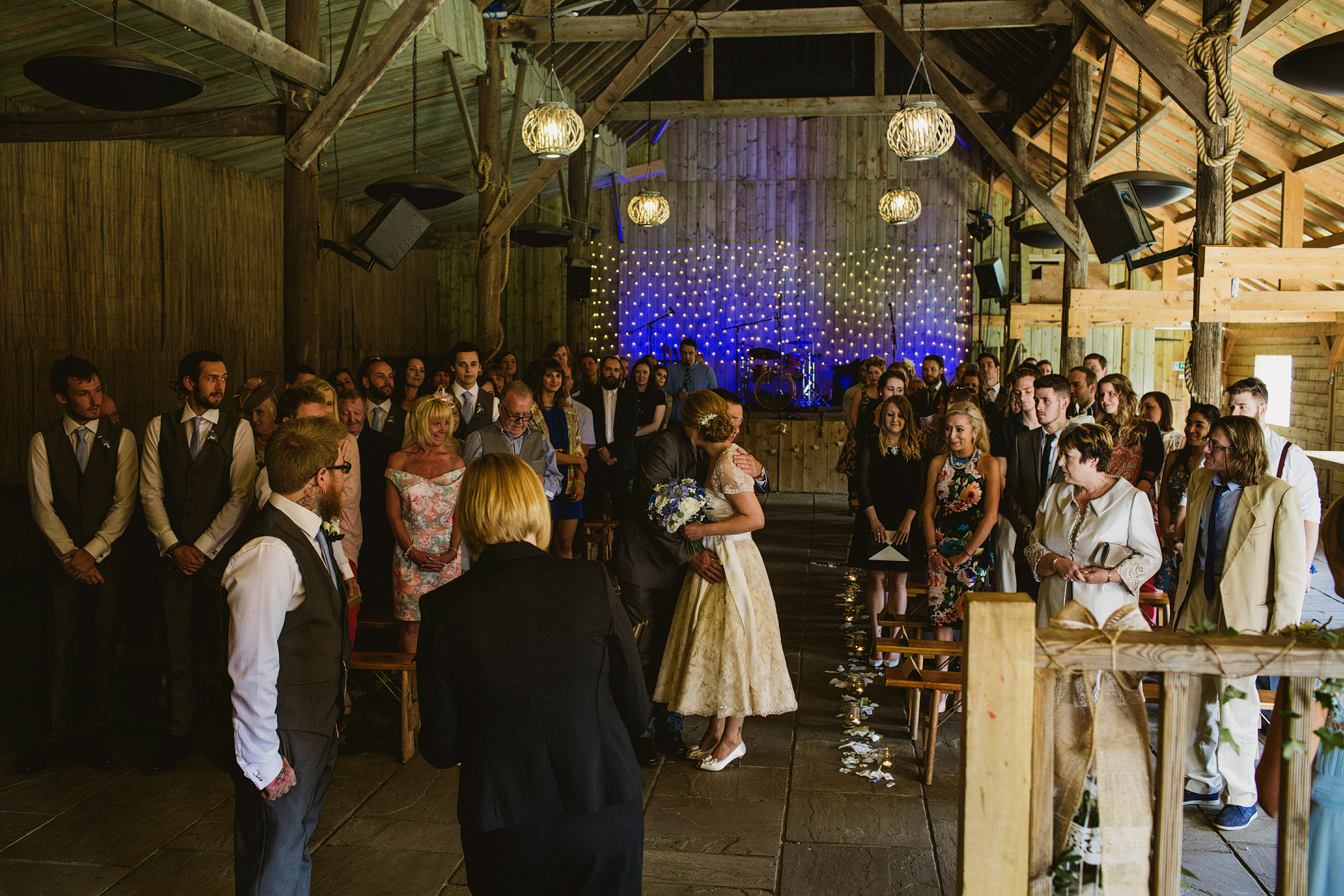 York Maze Wedding Ceremony