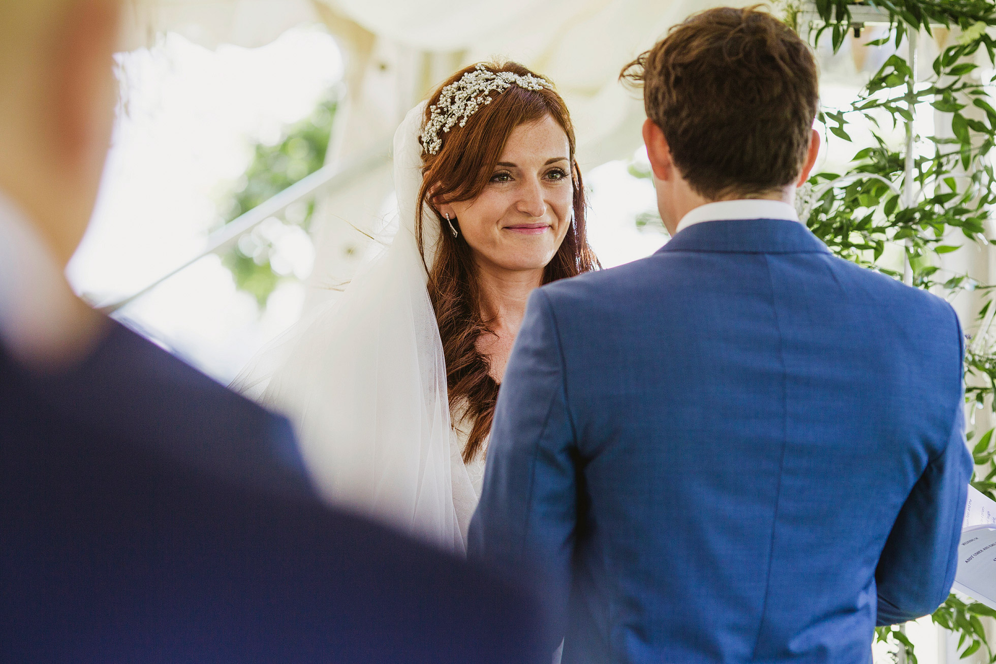 Dukes Place Courtyard Wedding Ceremony