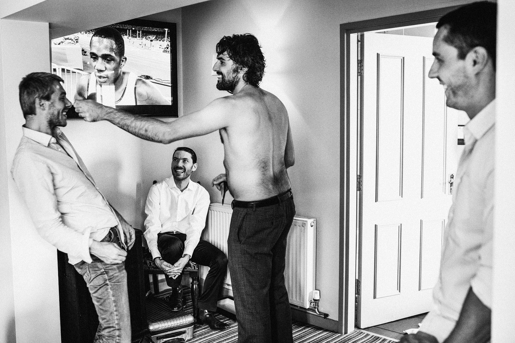 Black and White Documentary Photography
