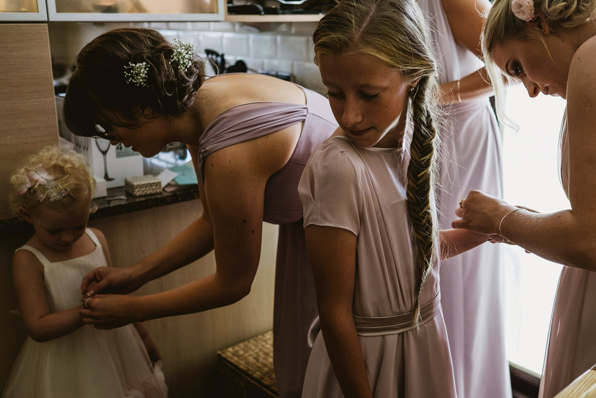 Stanley House Wedding Bridal Preparations