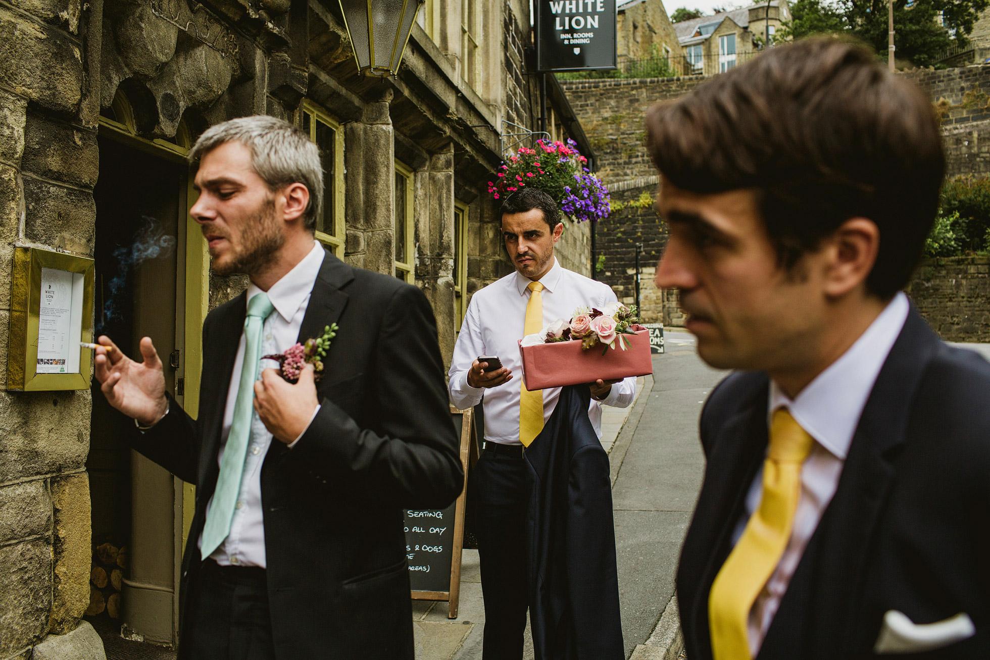 Wedding Colour Street Photography