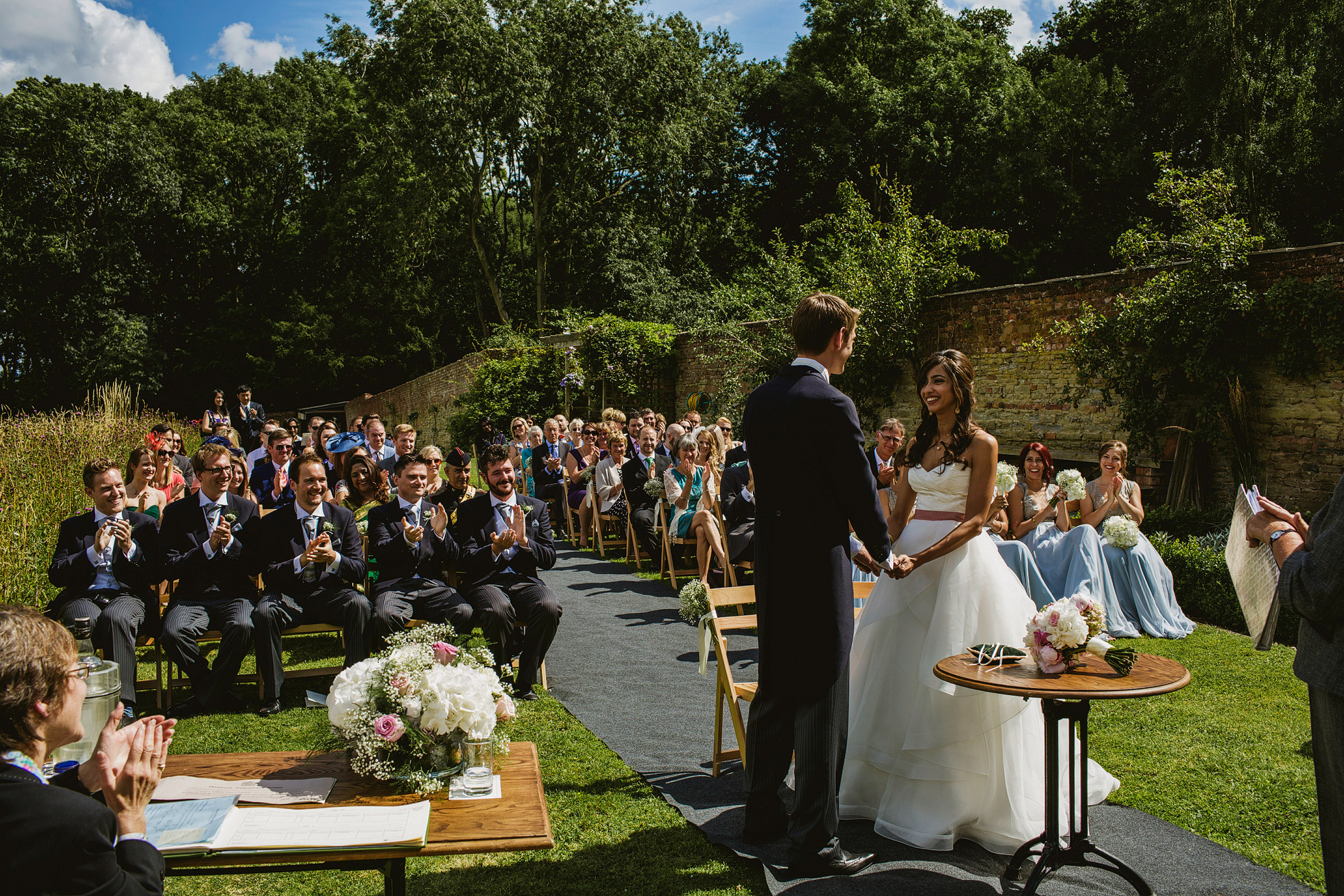 Homme House Wedding Ceremony