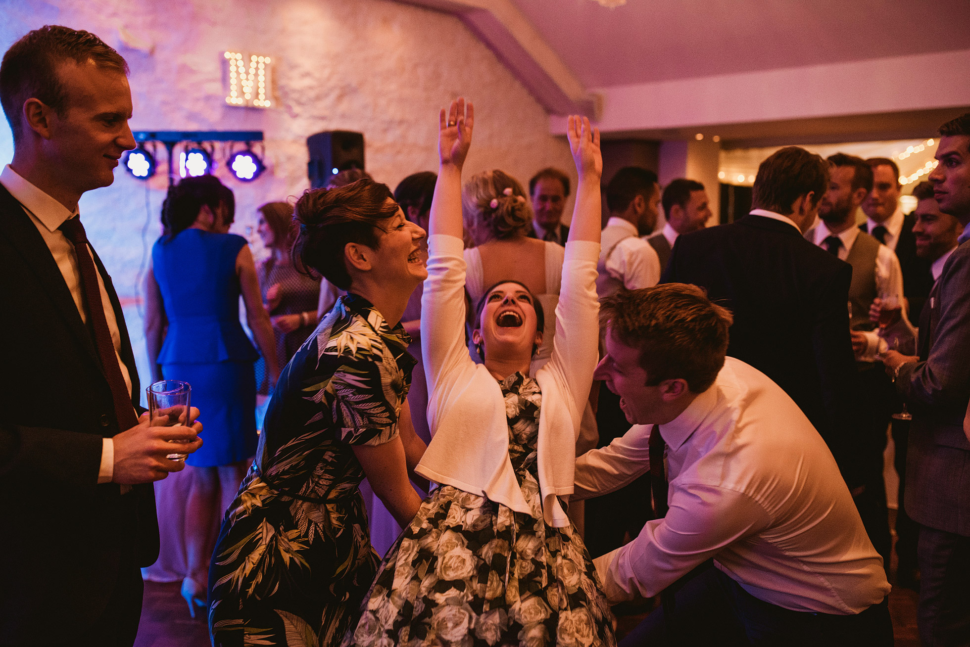 Stanley House Wedding Dancefloor