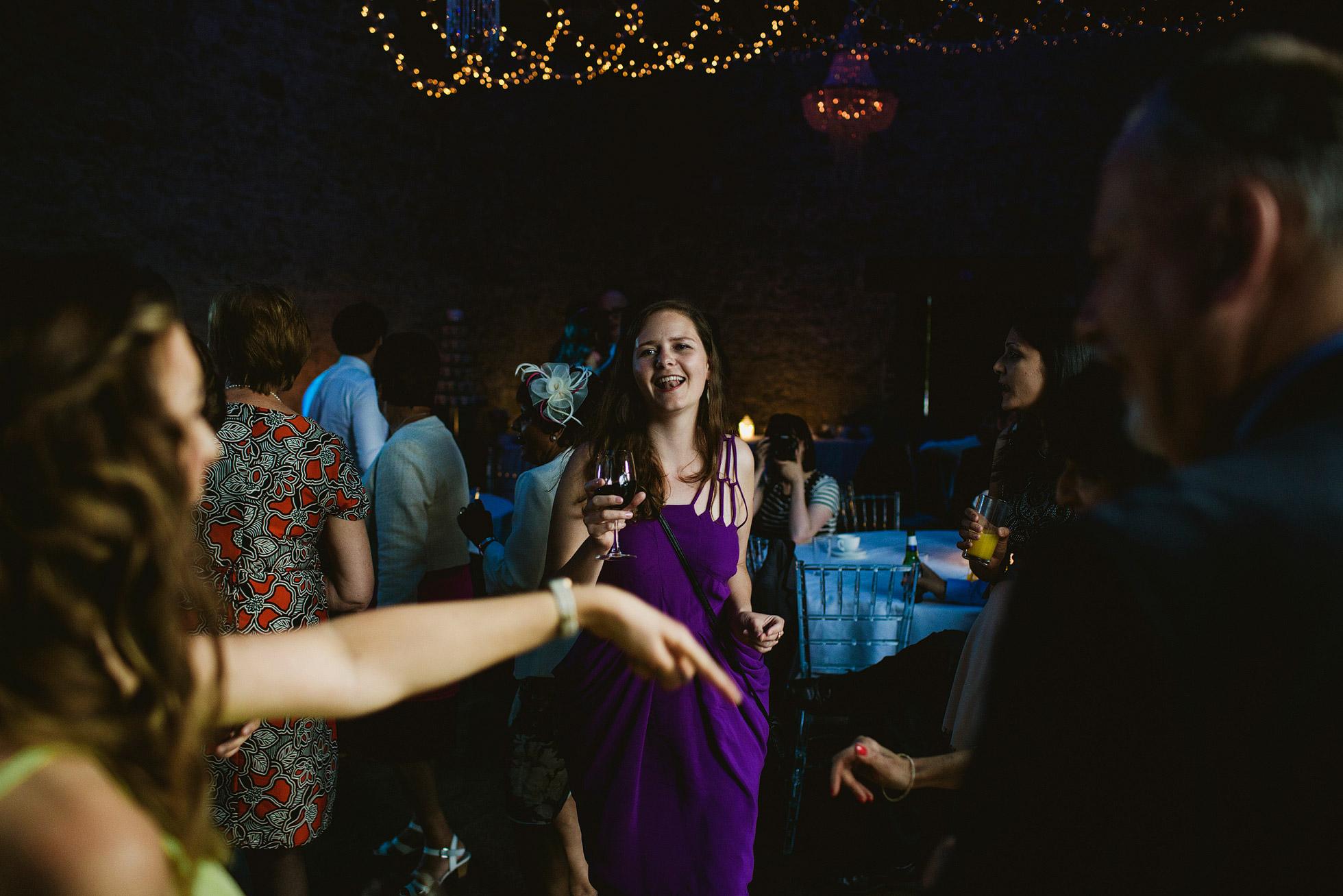 Dancing at Notley Abbey