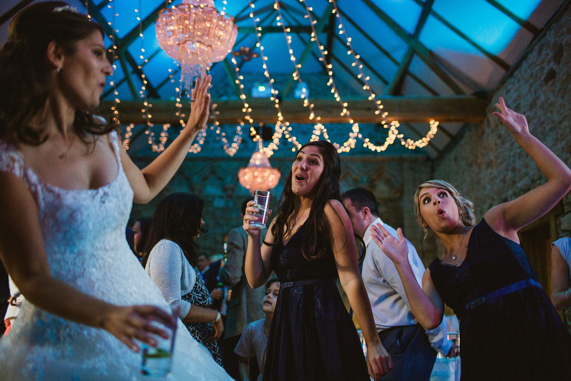Bride and Groom First Dance at Notley Abbey