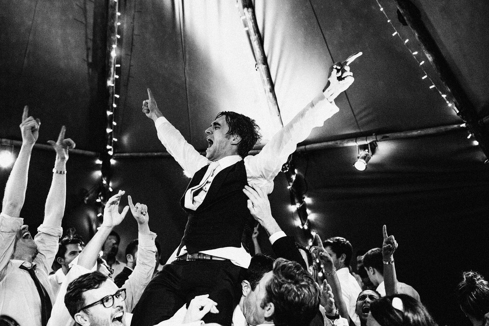 Black and White Dancefloor Madness