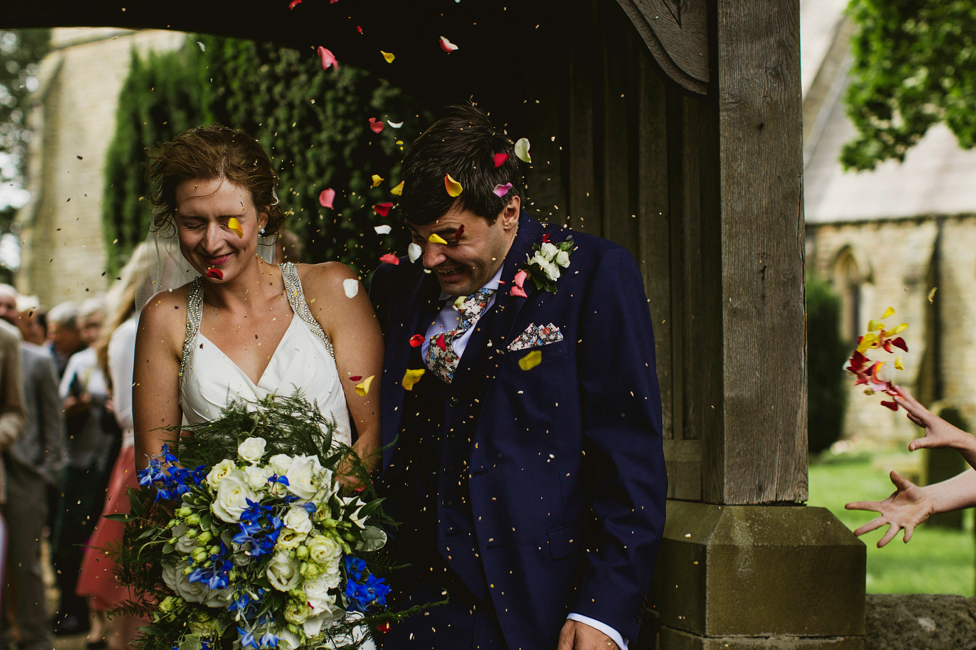 Utopia Broughton Hall Wedding Confetti