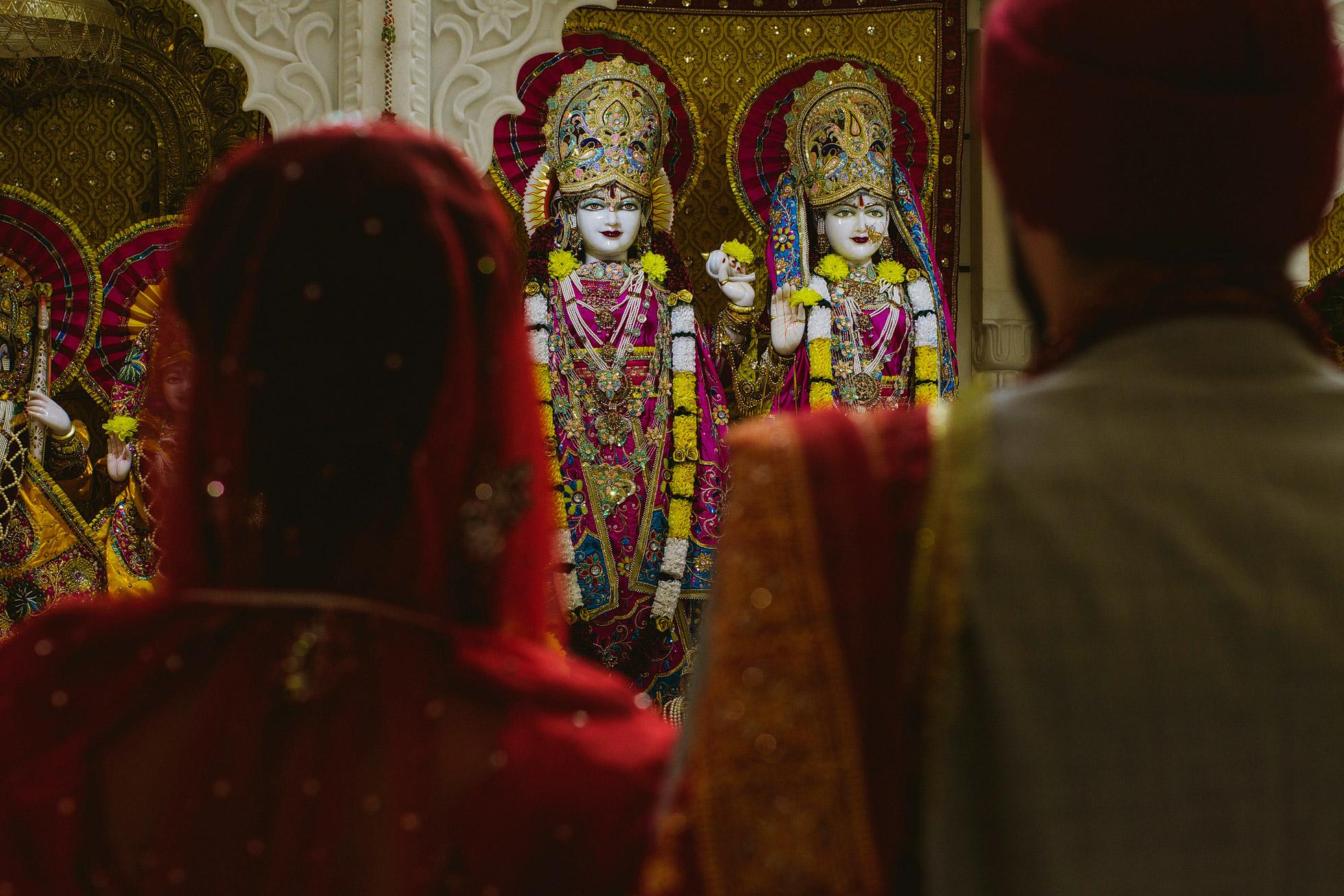 Hindu Temple Wedding Ceremony