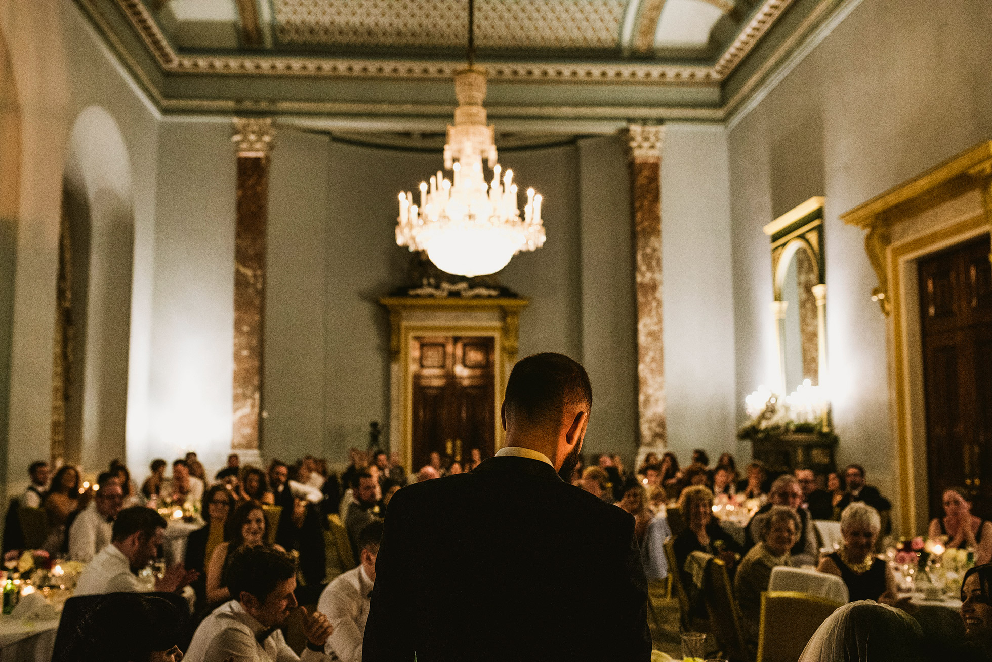 Wynyard Hall Wedding Reception