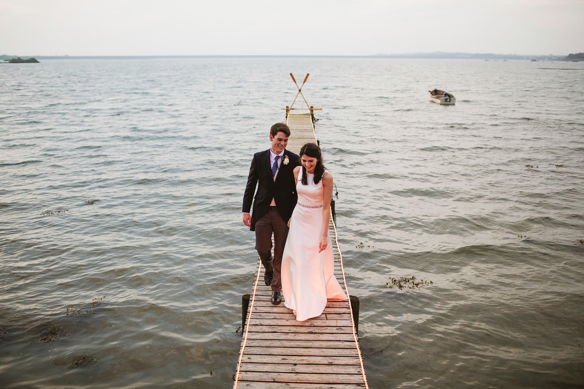 The Boathouse Trearddur Bay Wedding Photography