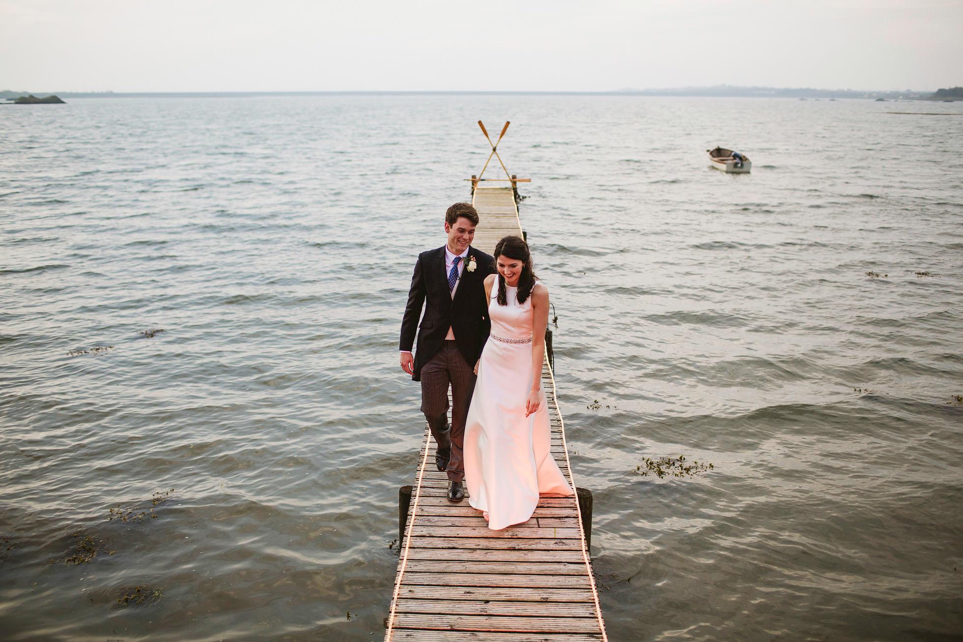 The Boathouse Trearddur Bay Wedding Photography