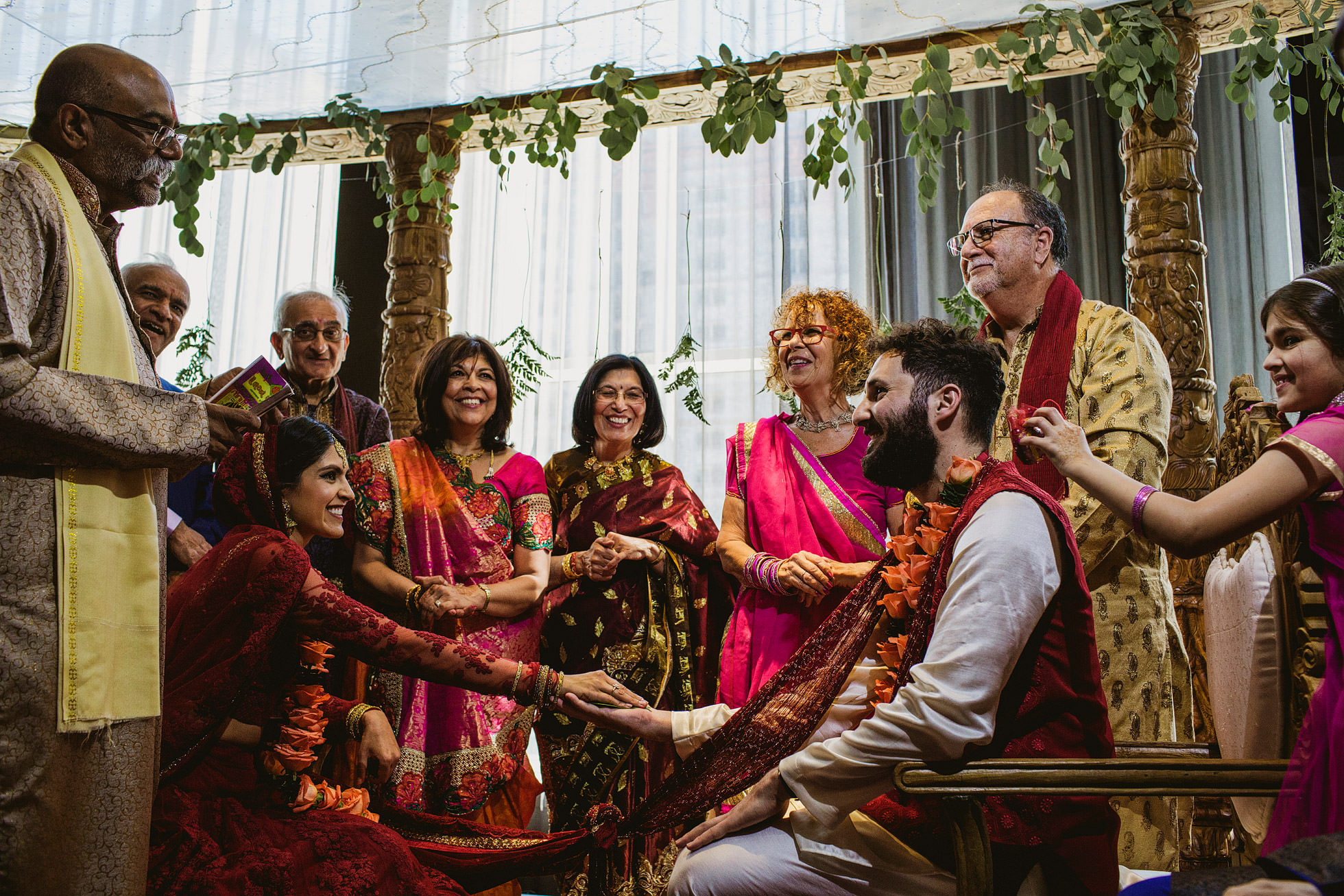 Titanic Hotel Indian Wedding Photography