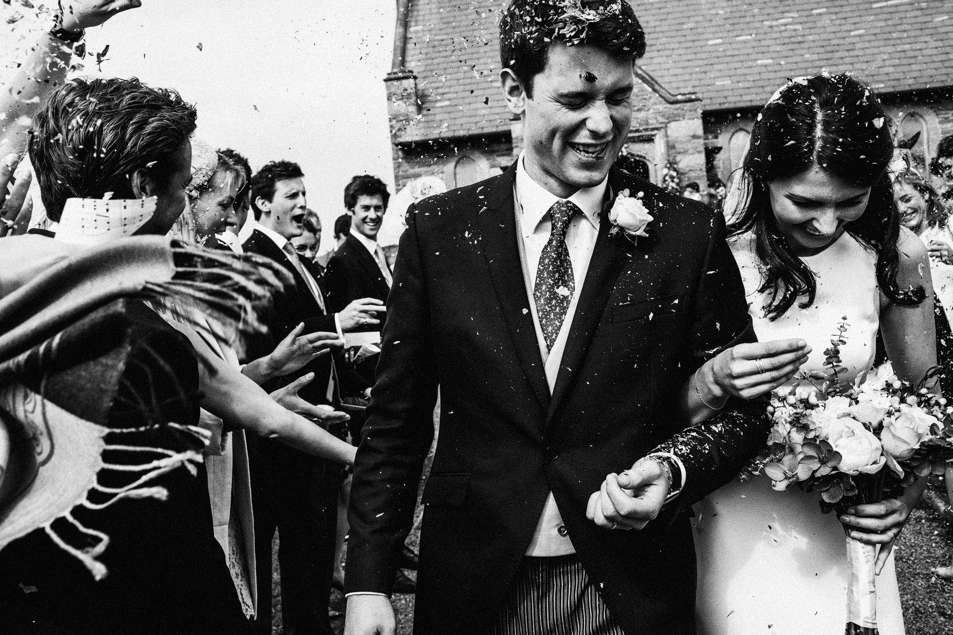 Trearddur Bay Wedding Confetti