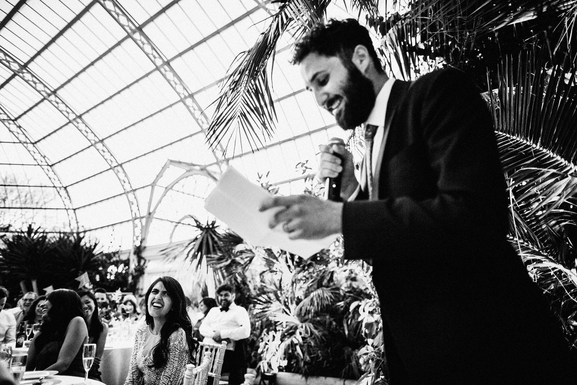 Sefton Park Palm House Wedding Speeches