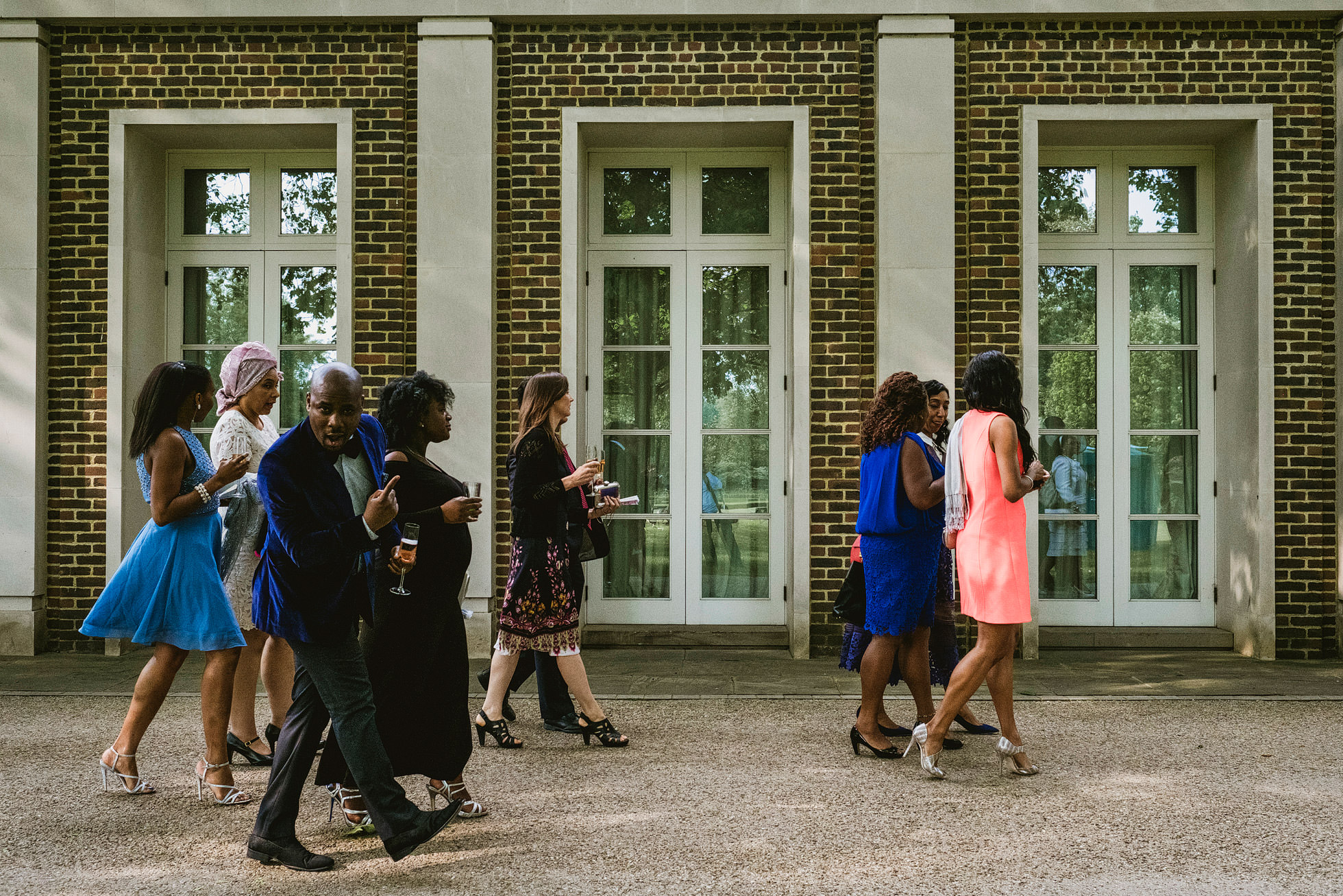 Hurlingham Club African Wedding Reception