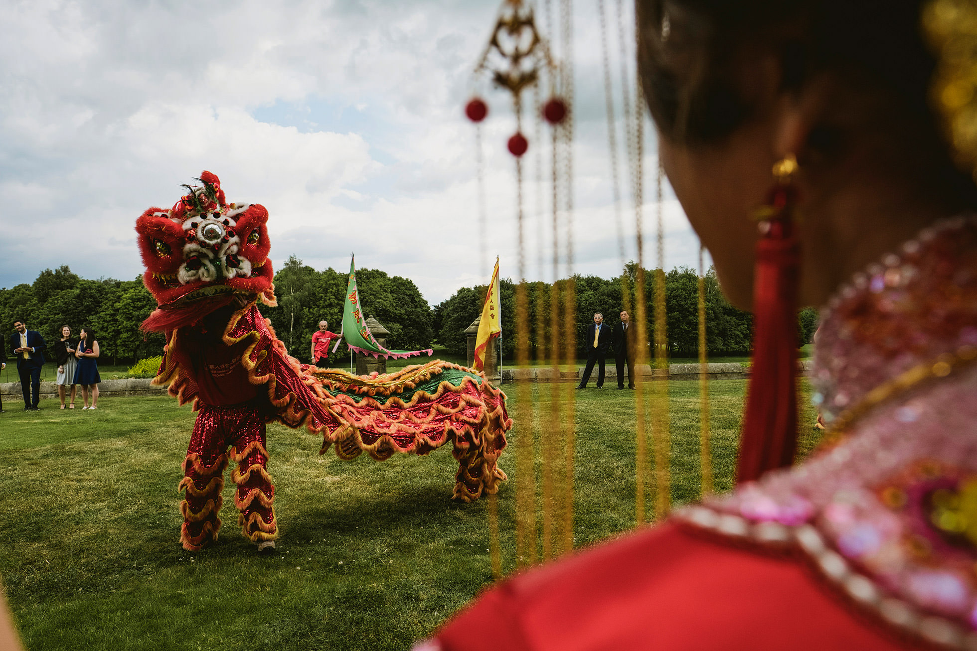 Allerton Castle Chinese Lion Dance