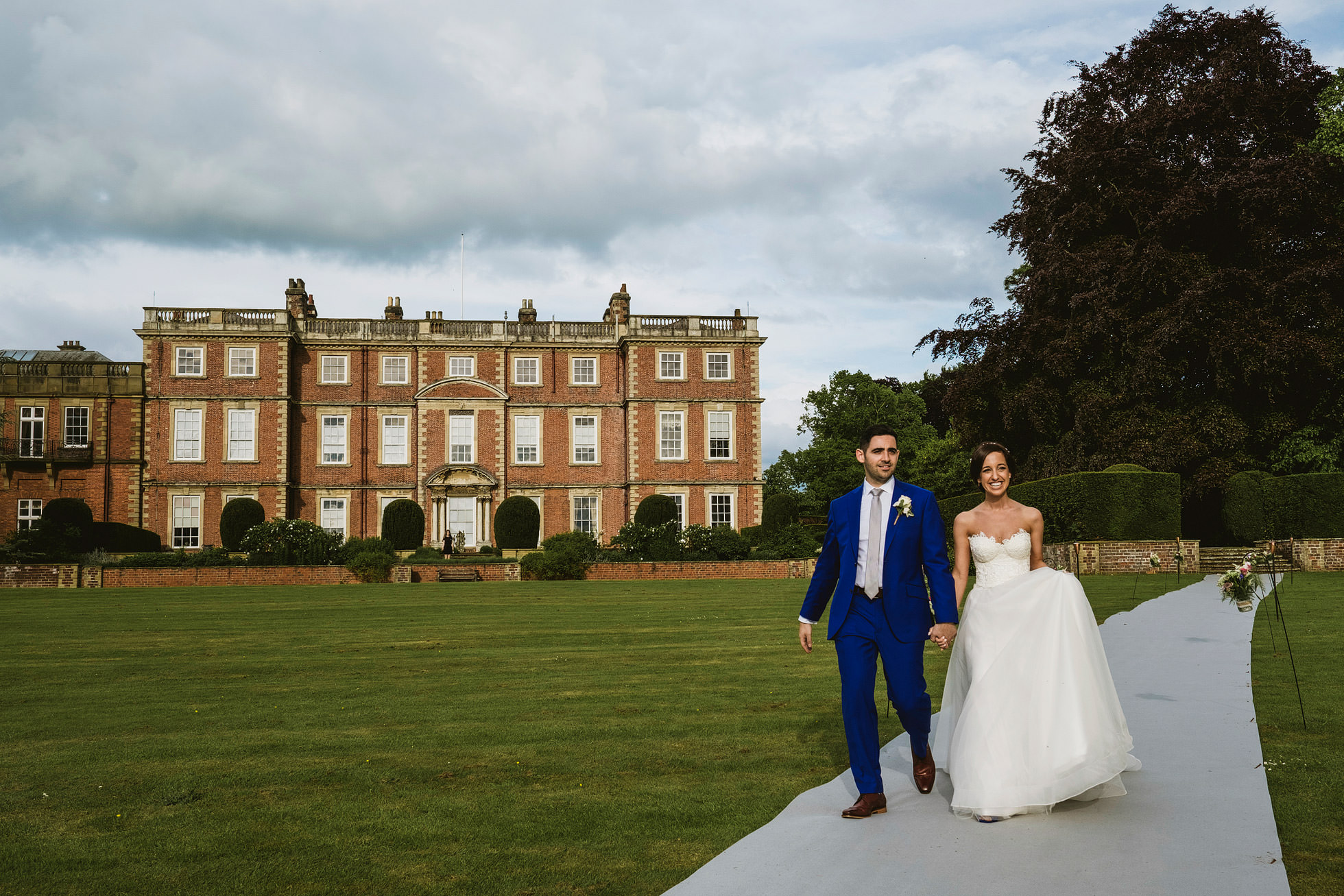 newby hall wedding photographers