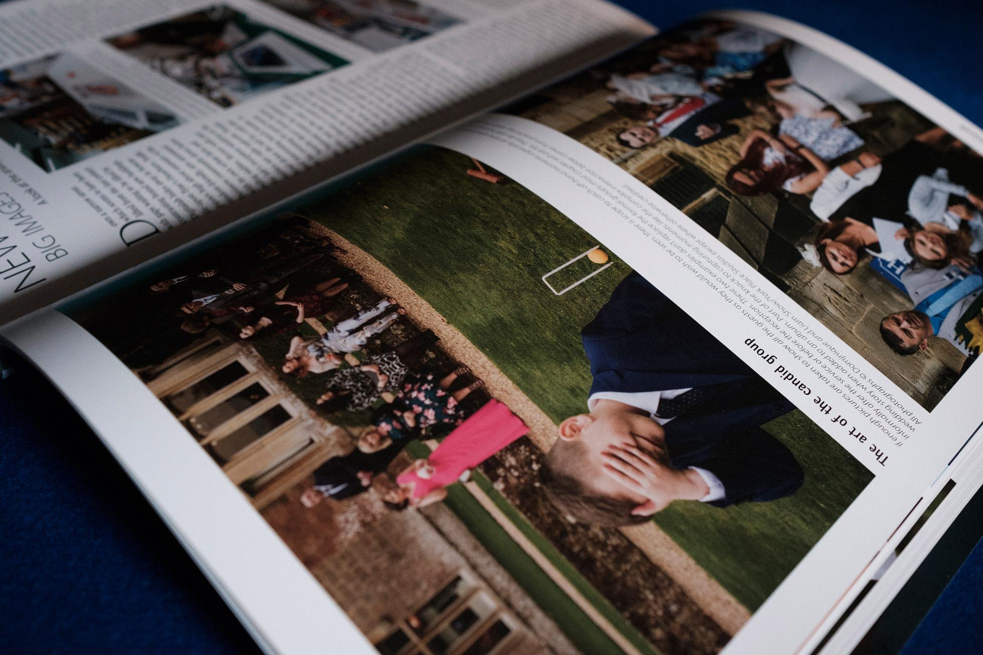documentary wedding photographers magazine article