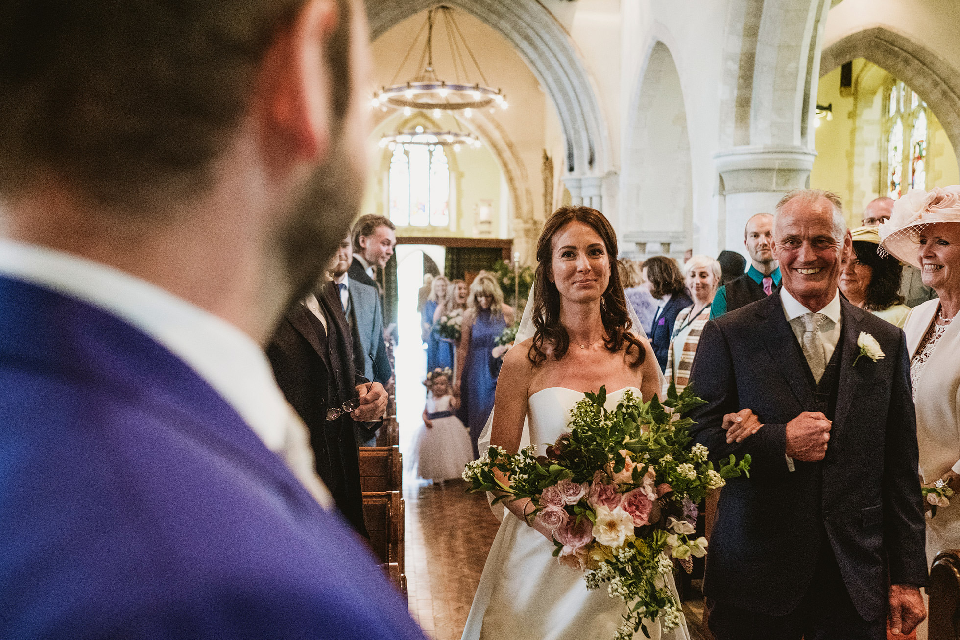 Hambledon Vineyard Wedding Photography