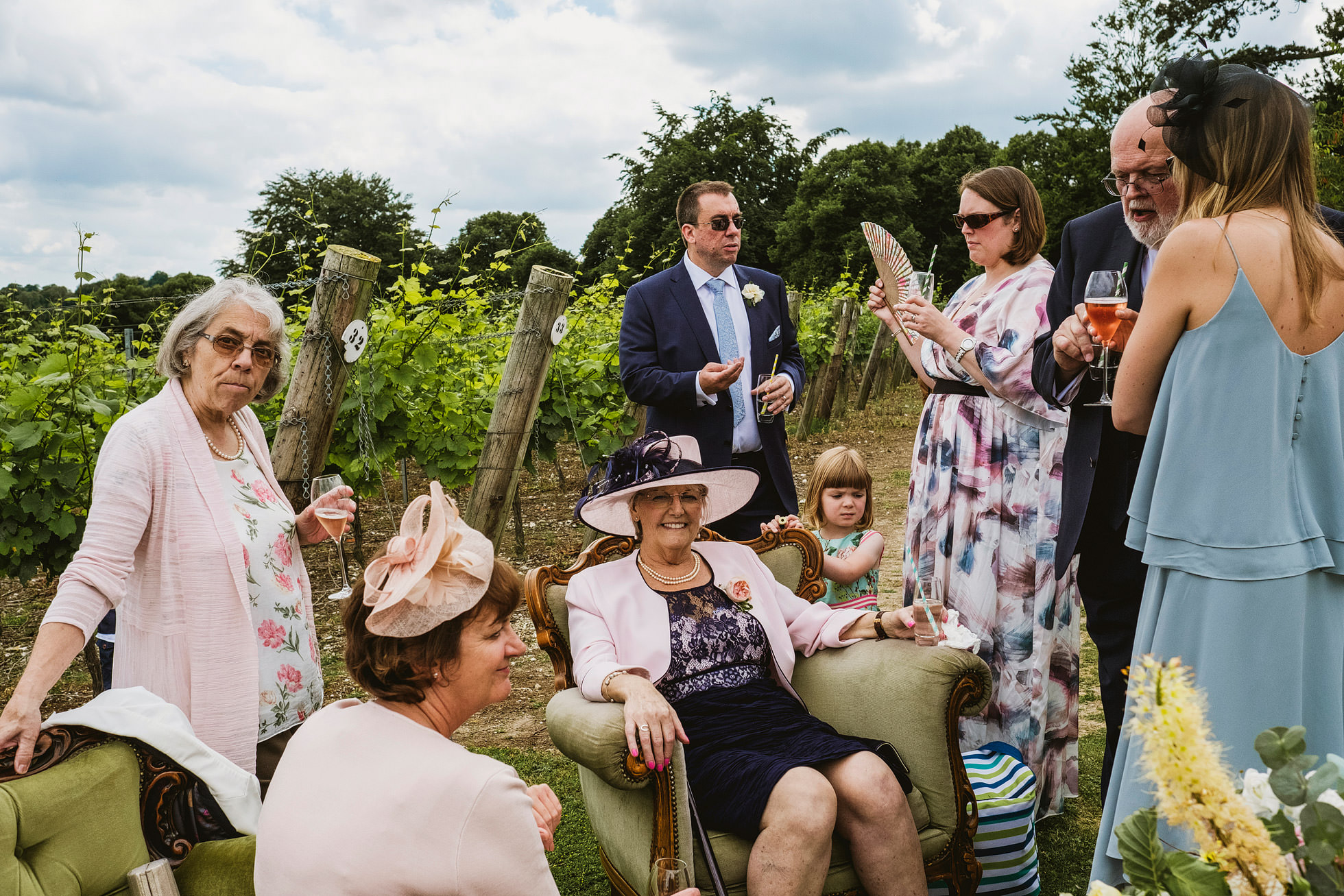 Hambledon Vineyard Wedding Photographers