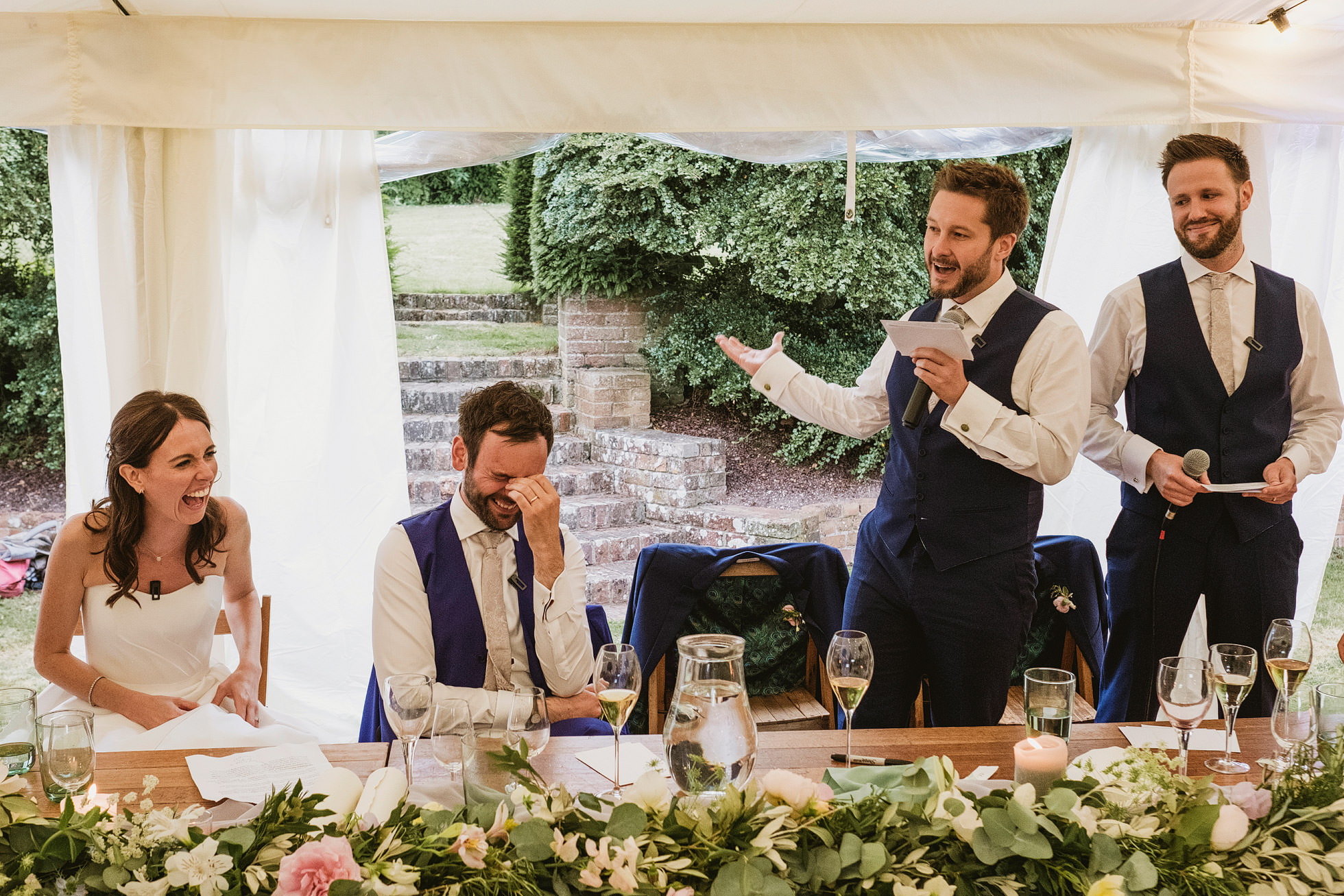 Hampshire Documentary Wedding Photographer