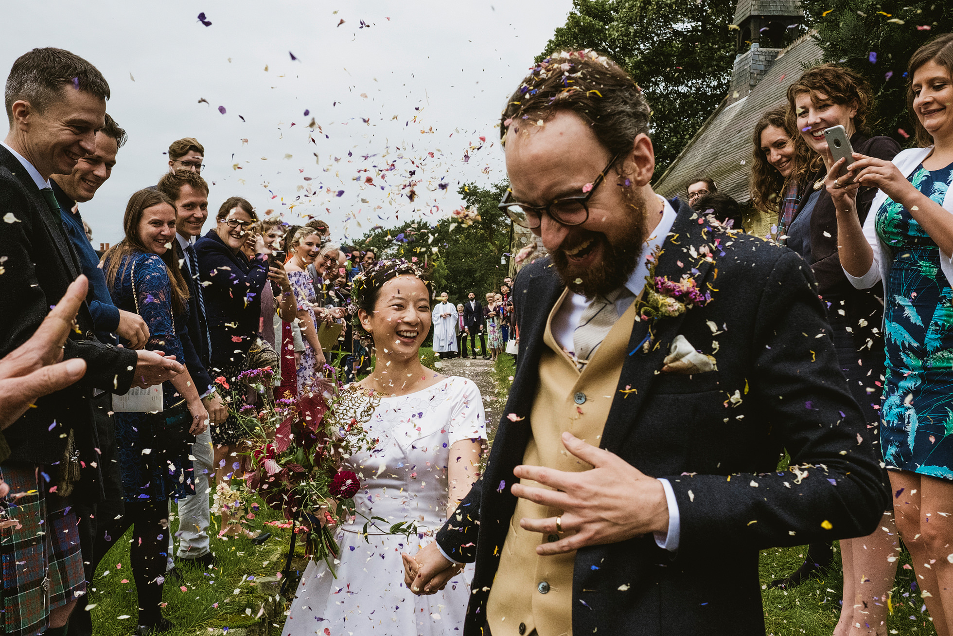 east harlsey village hall wedding photographers