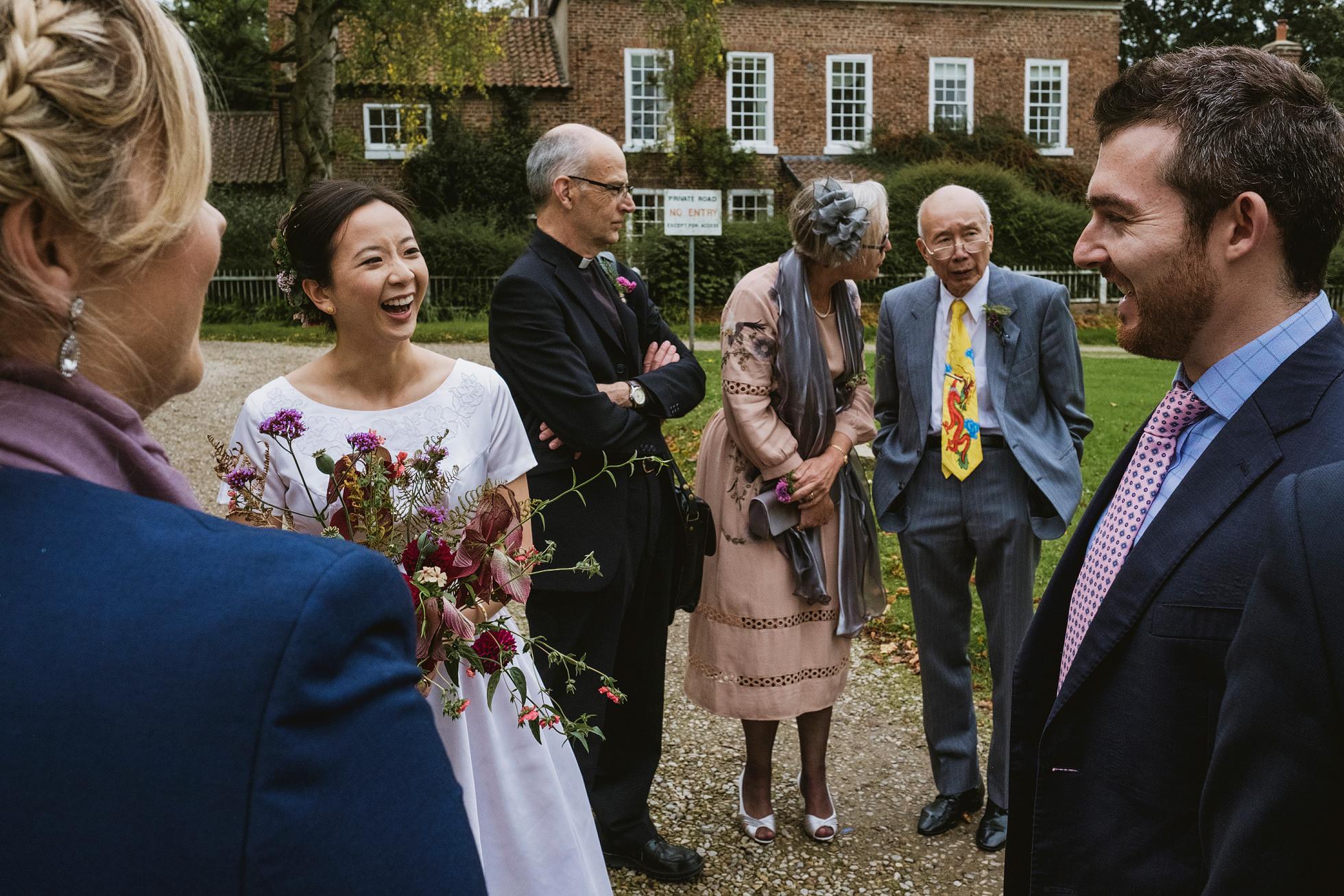 east harlsey village hall wedding
