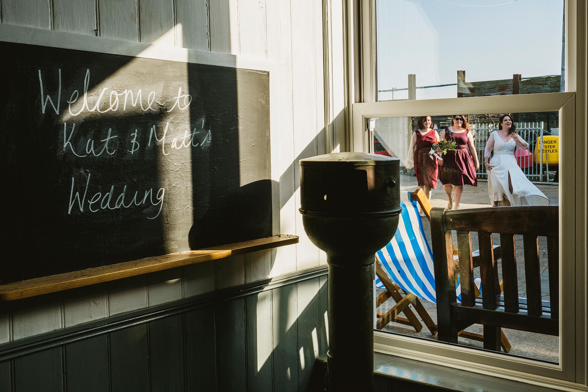 East Quay Whitstable Wedding Photography