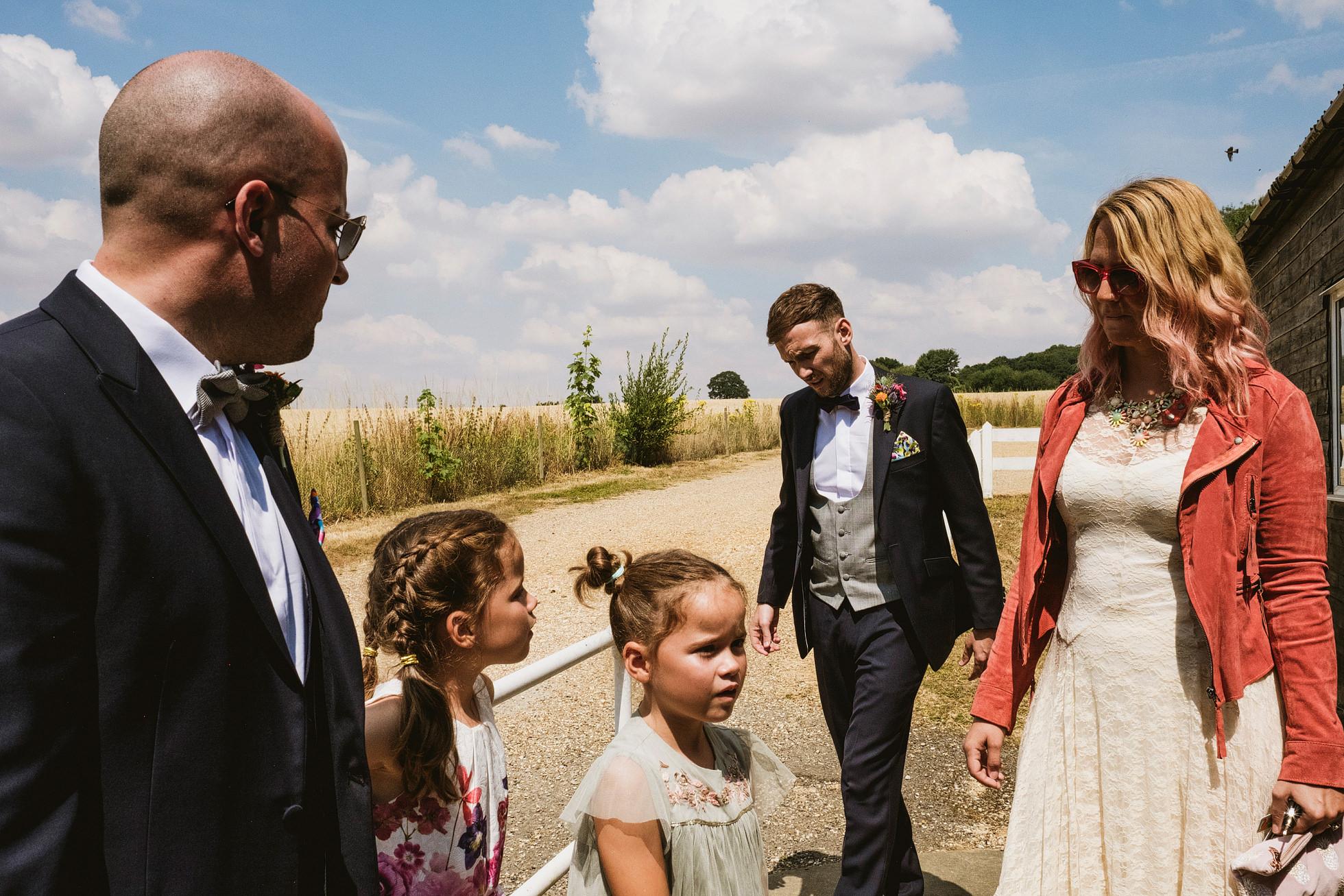 chappel village hall wedding photography